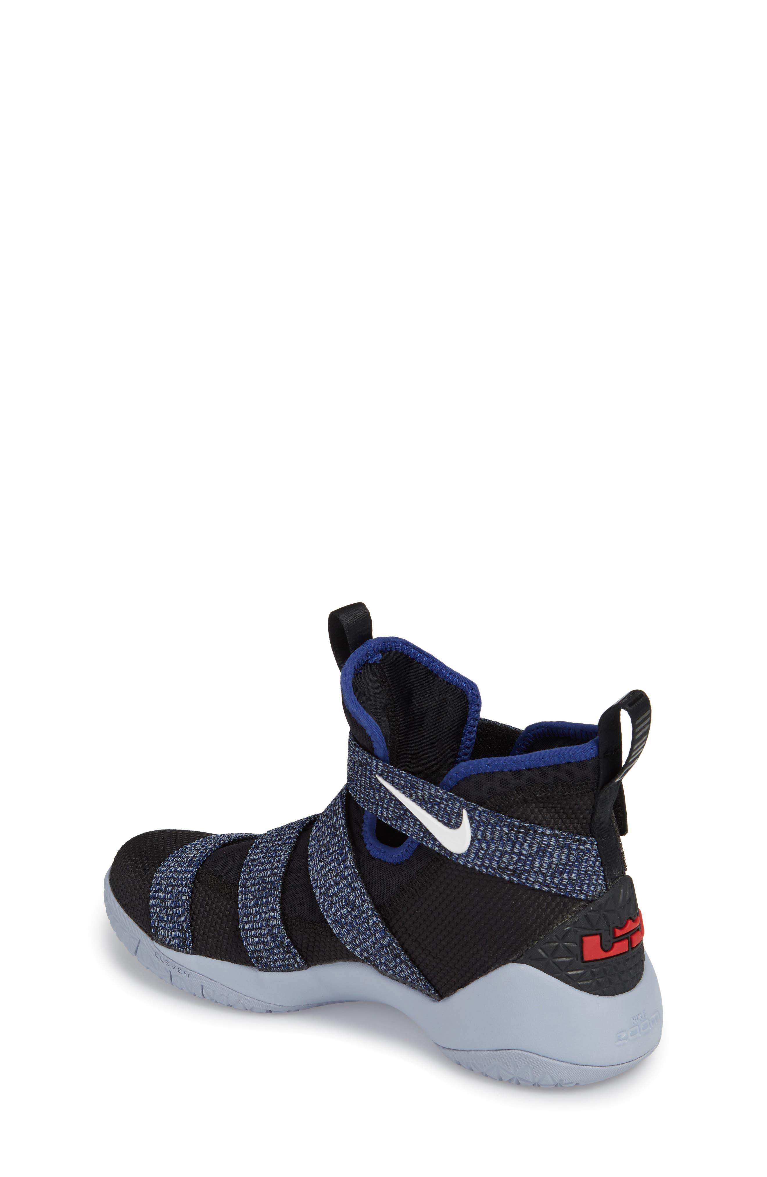 LeBron Soldier XI Basketball Shoe,                             Alternate thumbnail 2, color,                             005