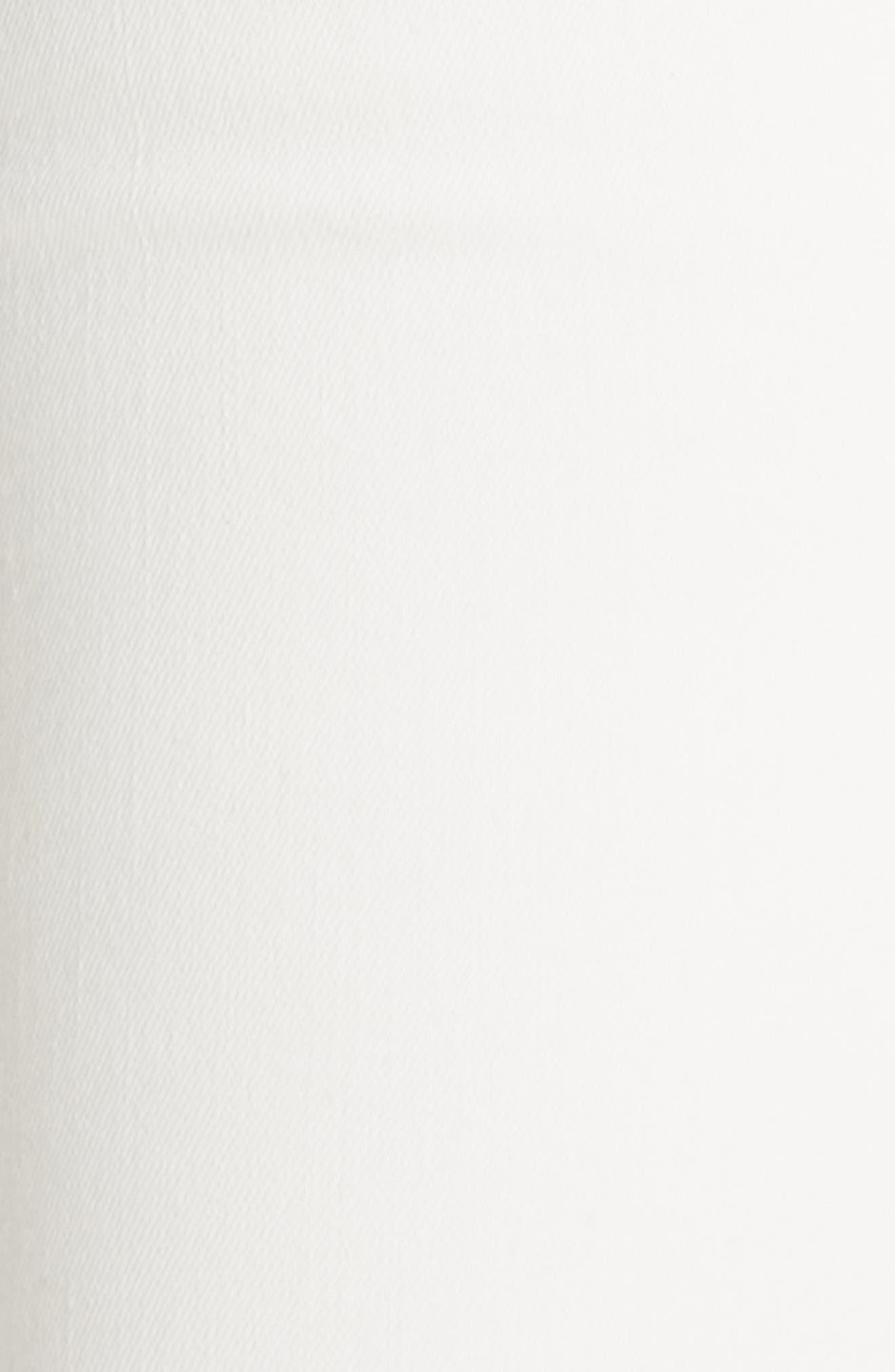 R13,                             Allison Distressed Skinny Jeans,                             Alternate thumbnail 5, color,                             GARRET WHITE