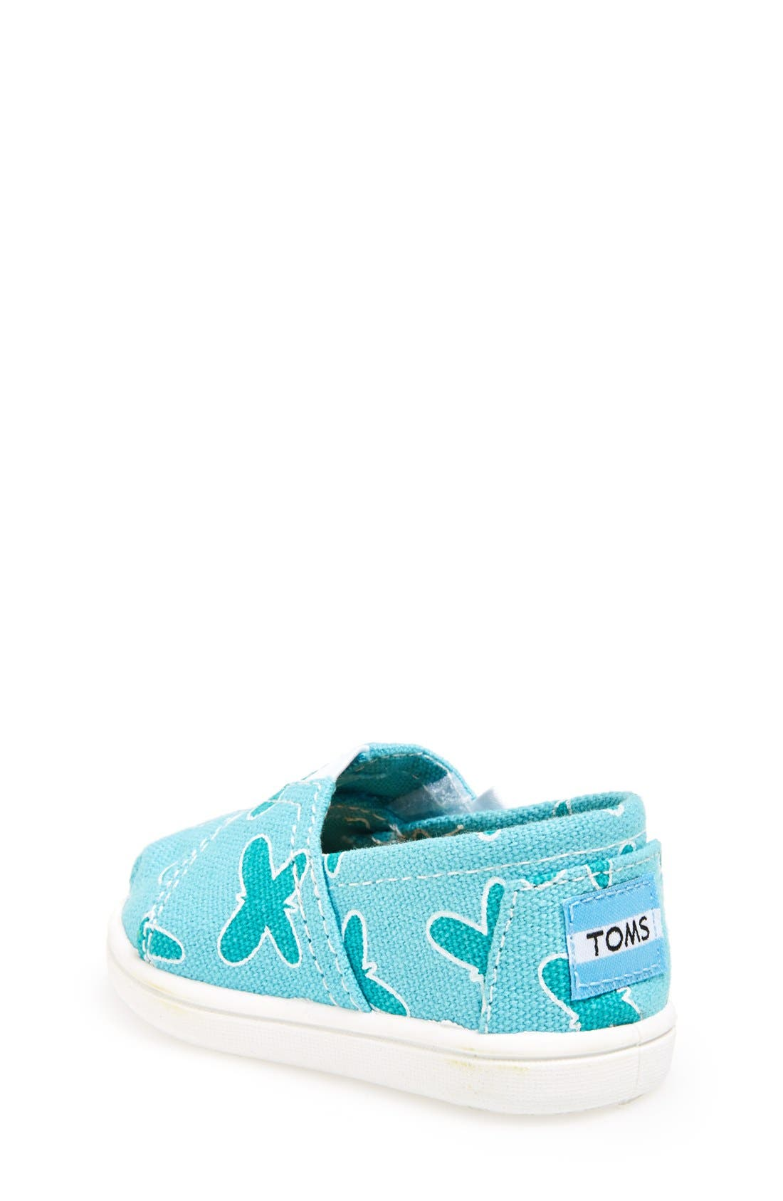 'Tiny Classic - Butterfly' Slip-On,                             Alternate thumbnail 4, color,                             440