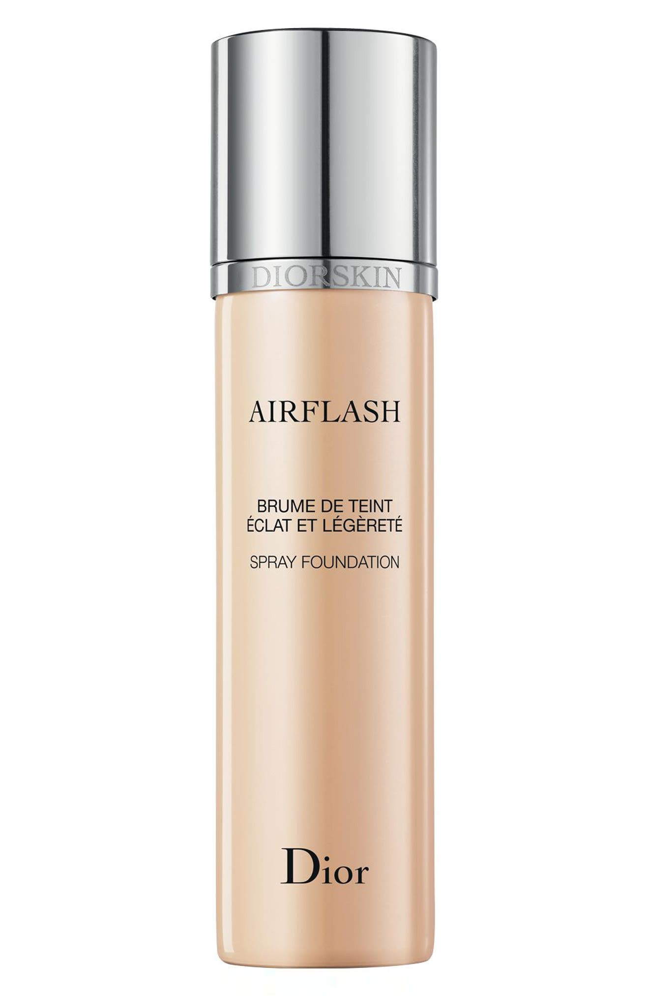 'Diorskin Airflash' Spray Foundation,                             Alternate thumbnail 2, color,                             000