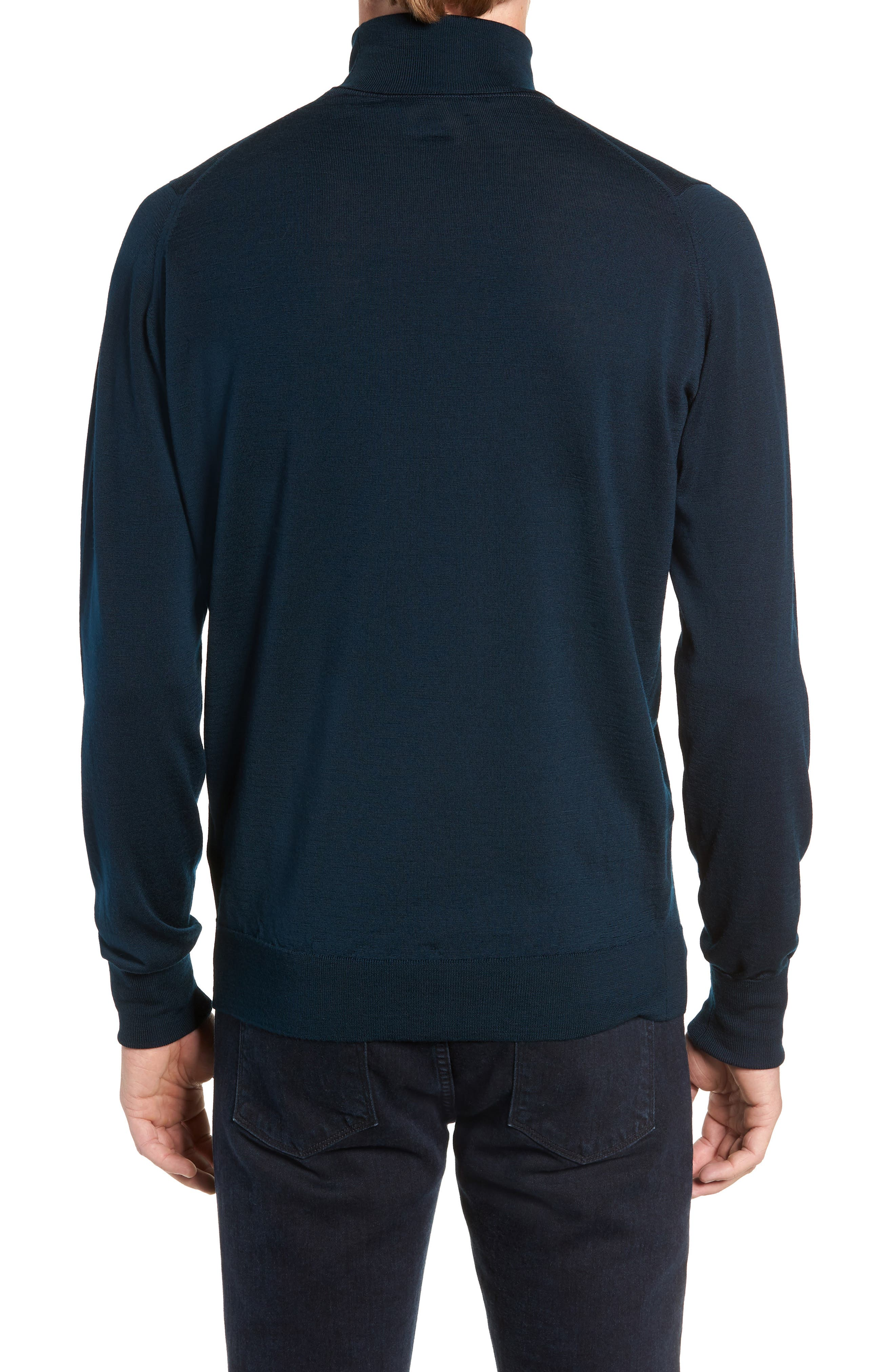 'Richards' Easy Fit Turtleneck Wool Sweater,                             Alternate thumbnail 11, color,
