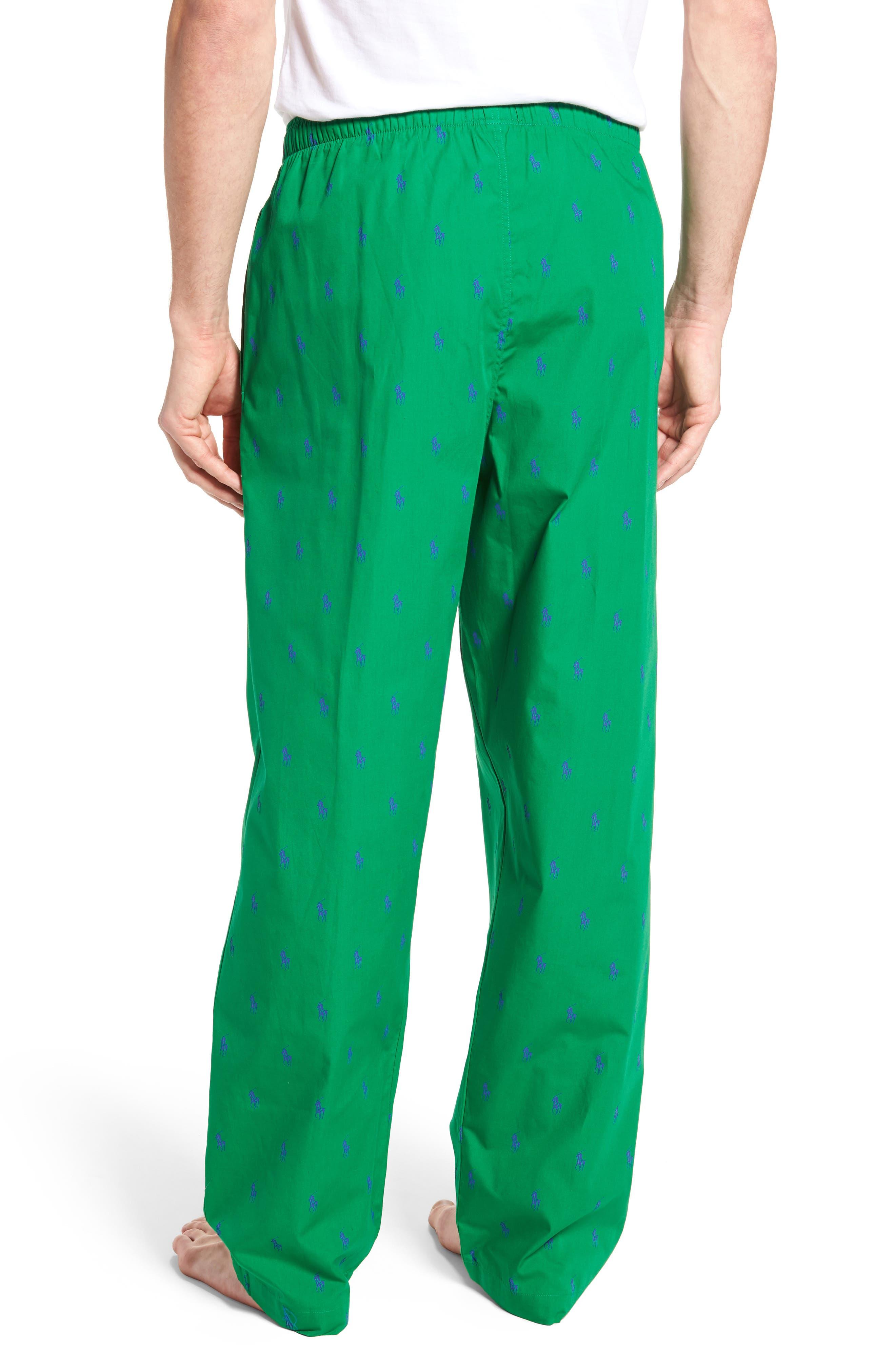 Polo Ralph Lauren Cotton Lounge Pants,                             Alternate thumbnail 7, color,