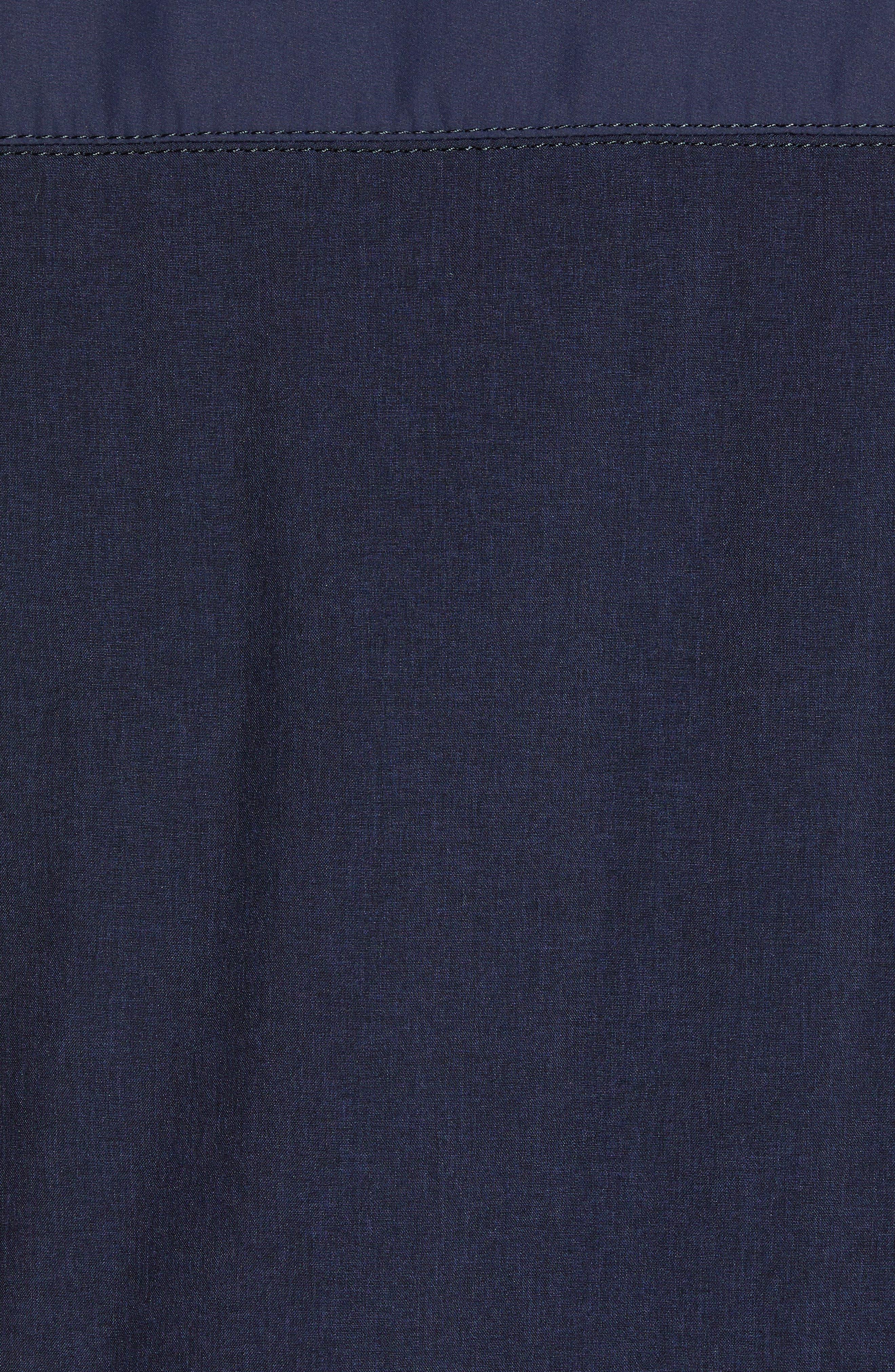 Slim Fit Quilted Vest,                             Alternate thumbnail 6, color,                             NAVY