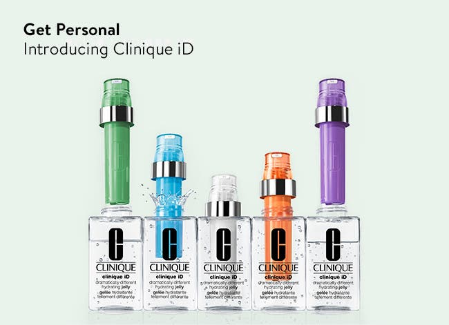 Get personal with new Clinique ID.