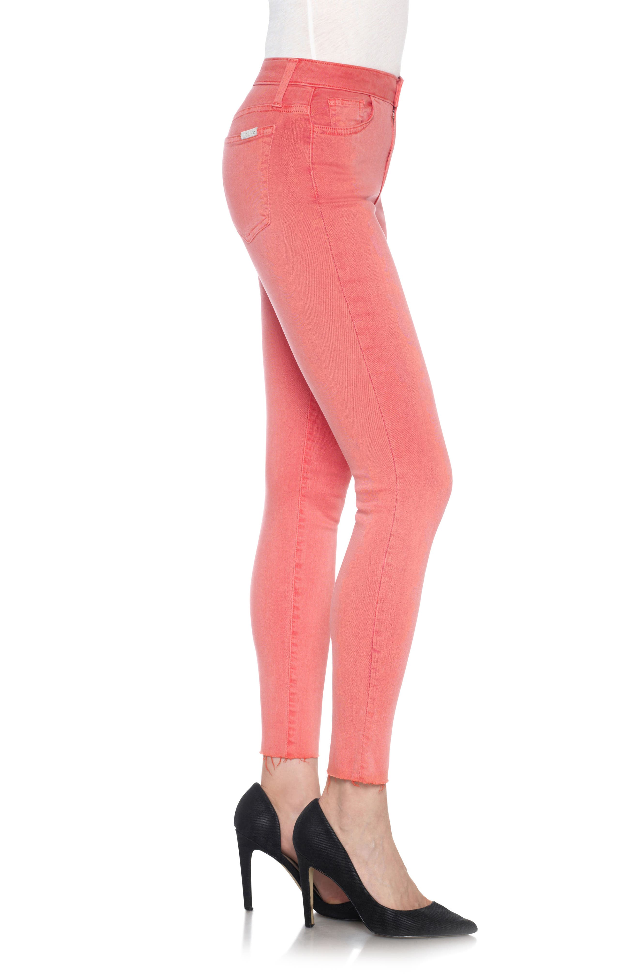 Charlie High Rise Ankle Skinny Jeans,                             Alternate thumbnail 27, color,