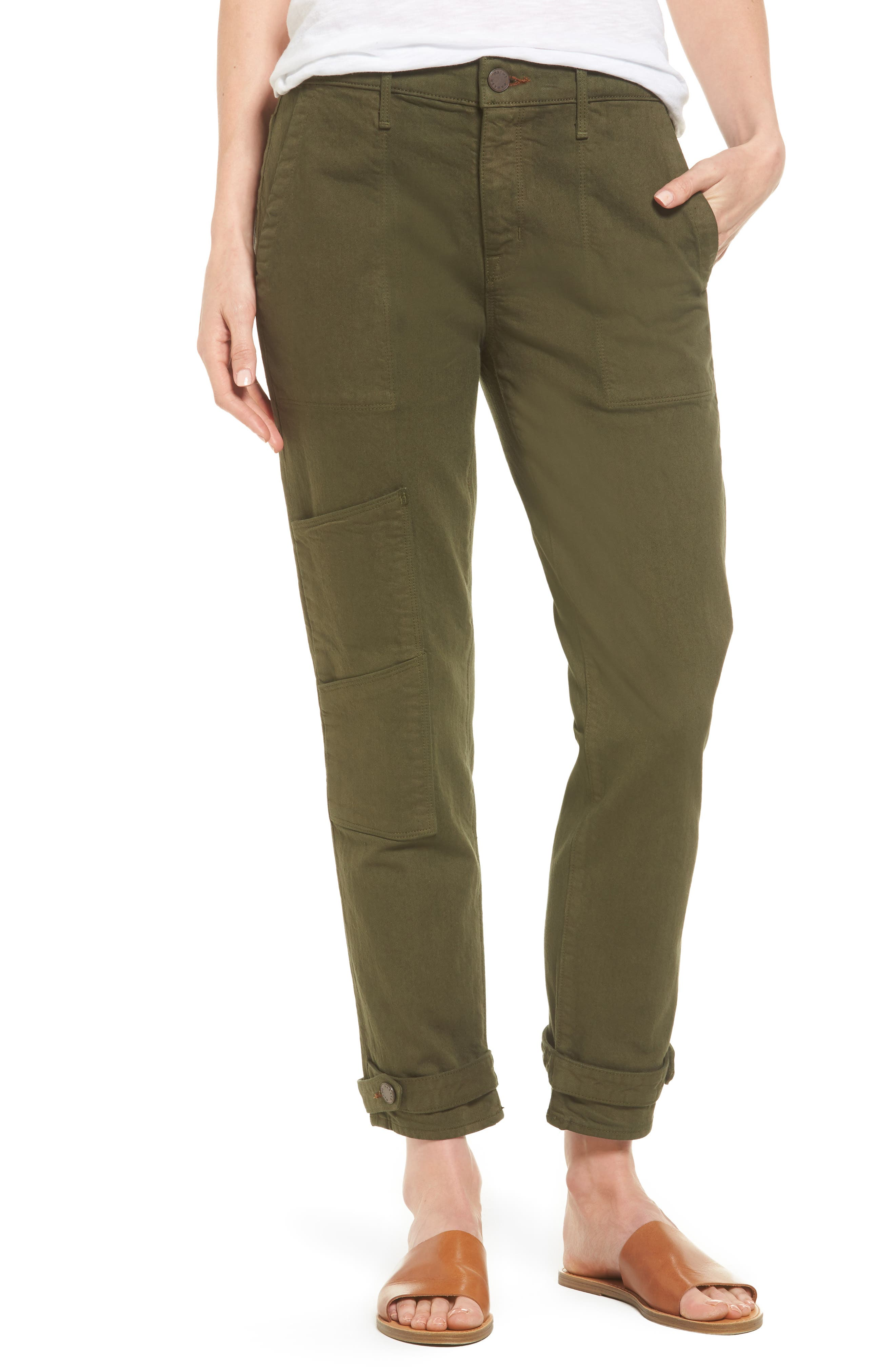Relaxed Utility Pants,                         Main,                         color, 338