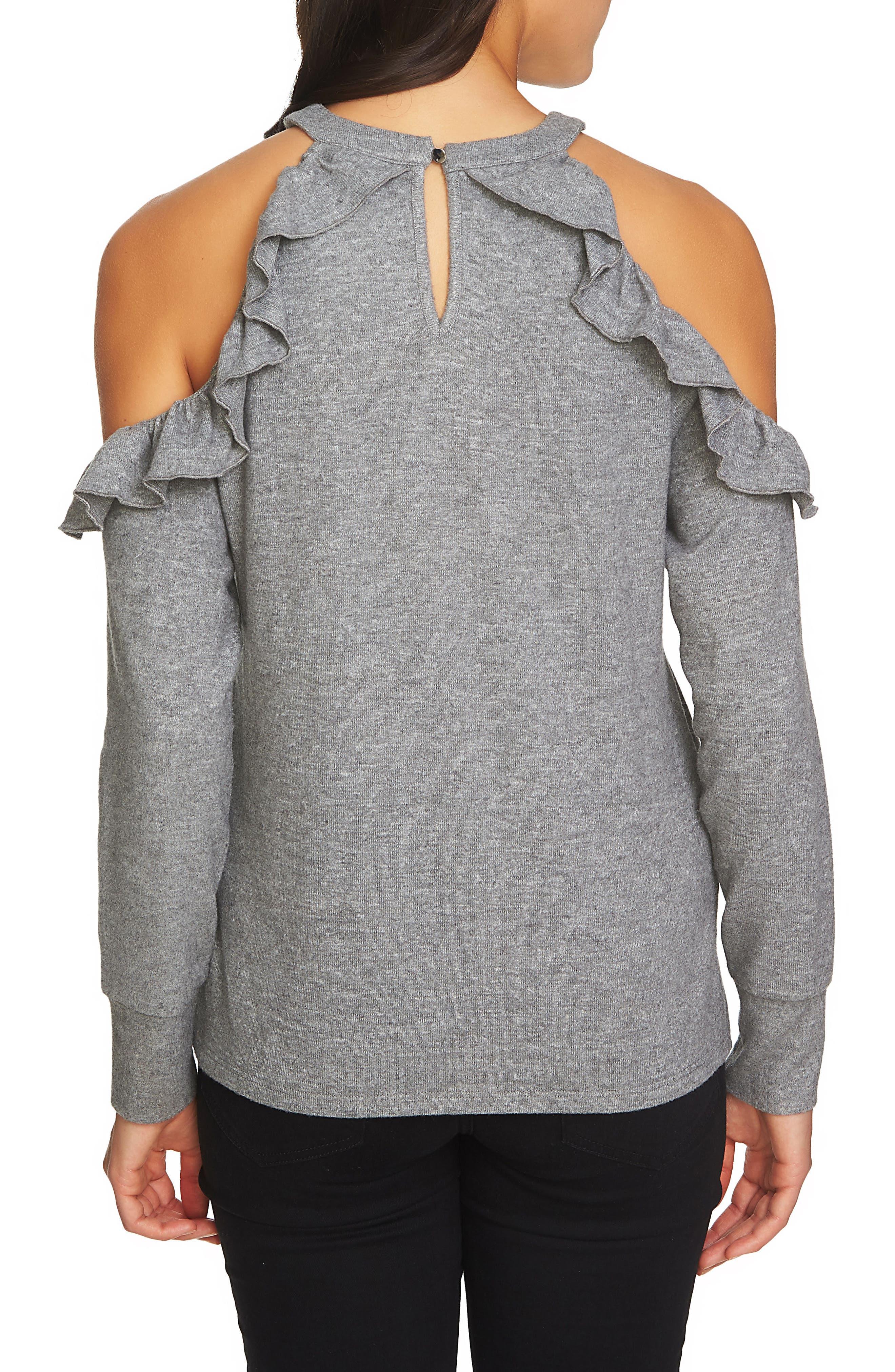 The Cozy Cold Shoulder Knit Top,                             Alternate thumbnail 11, color,