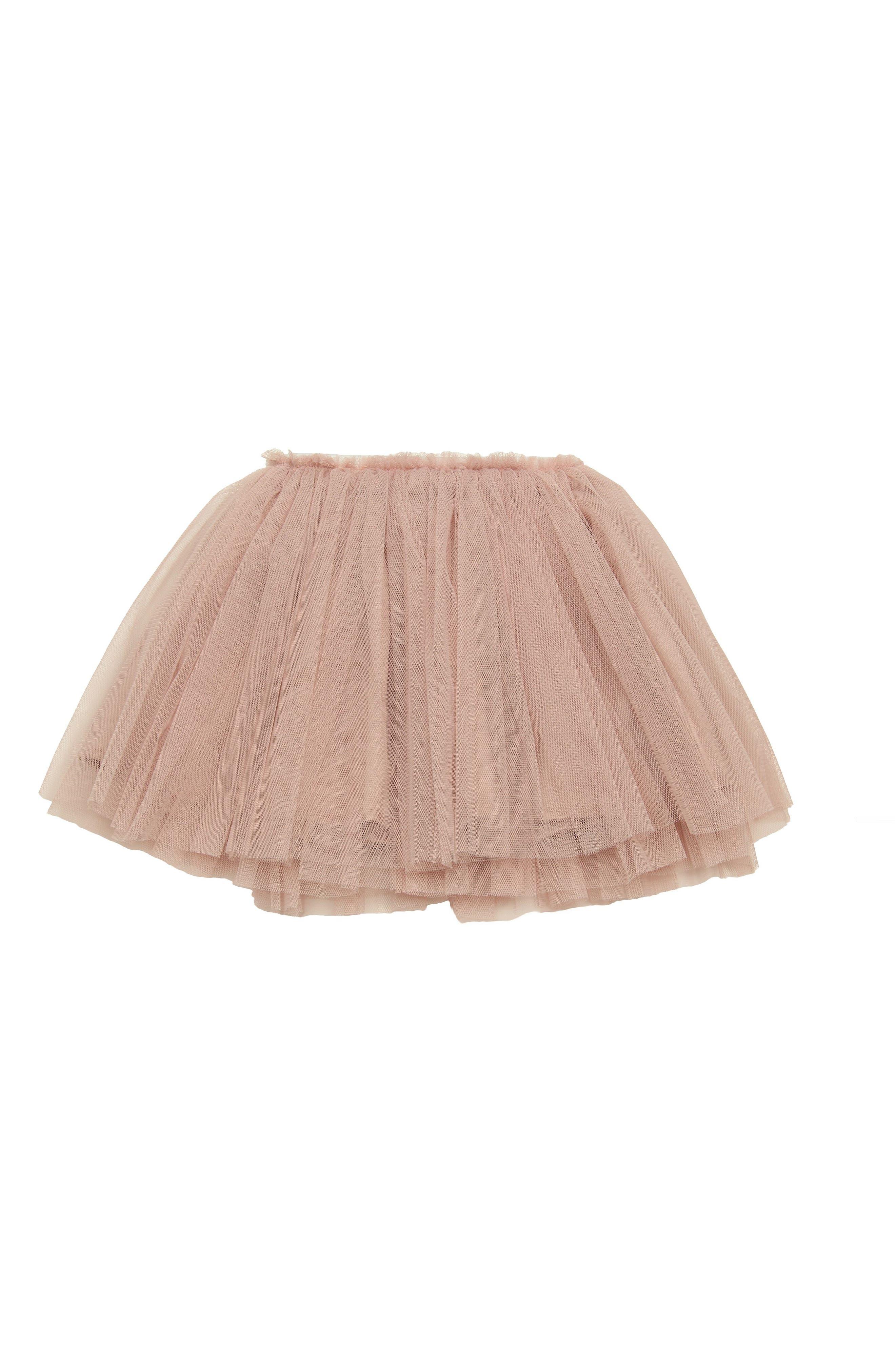 Tutu Skirt,                             Main thumbnail 1, color,                             DUSTY PINK