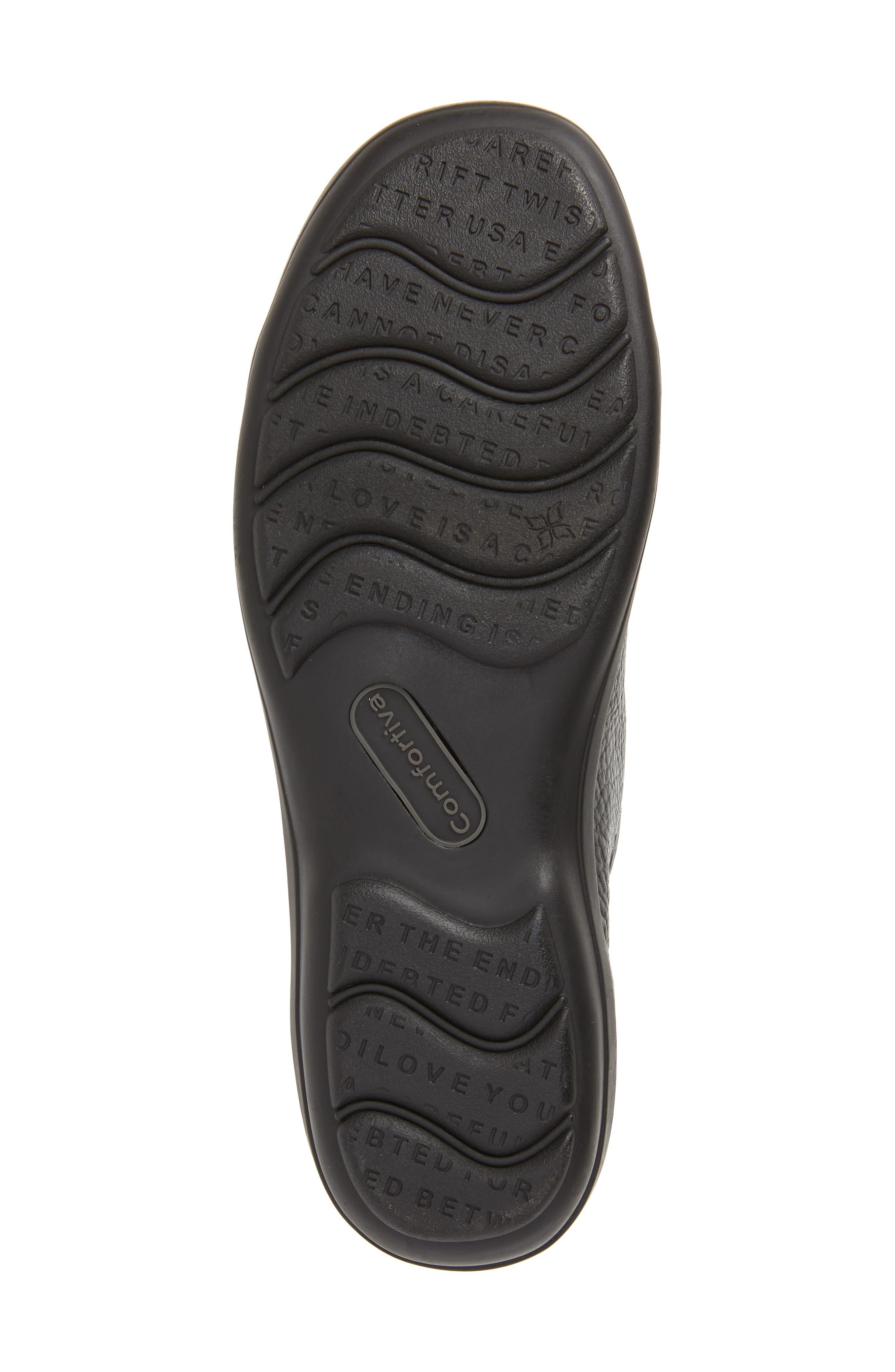 Reston Sneaker,                             Alternate thumbnail 6, color,                             BLACK