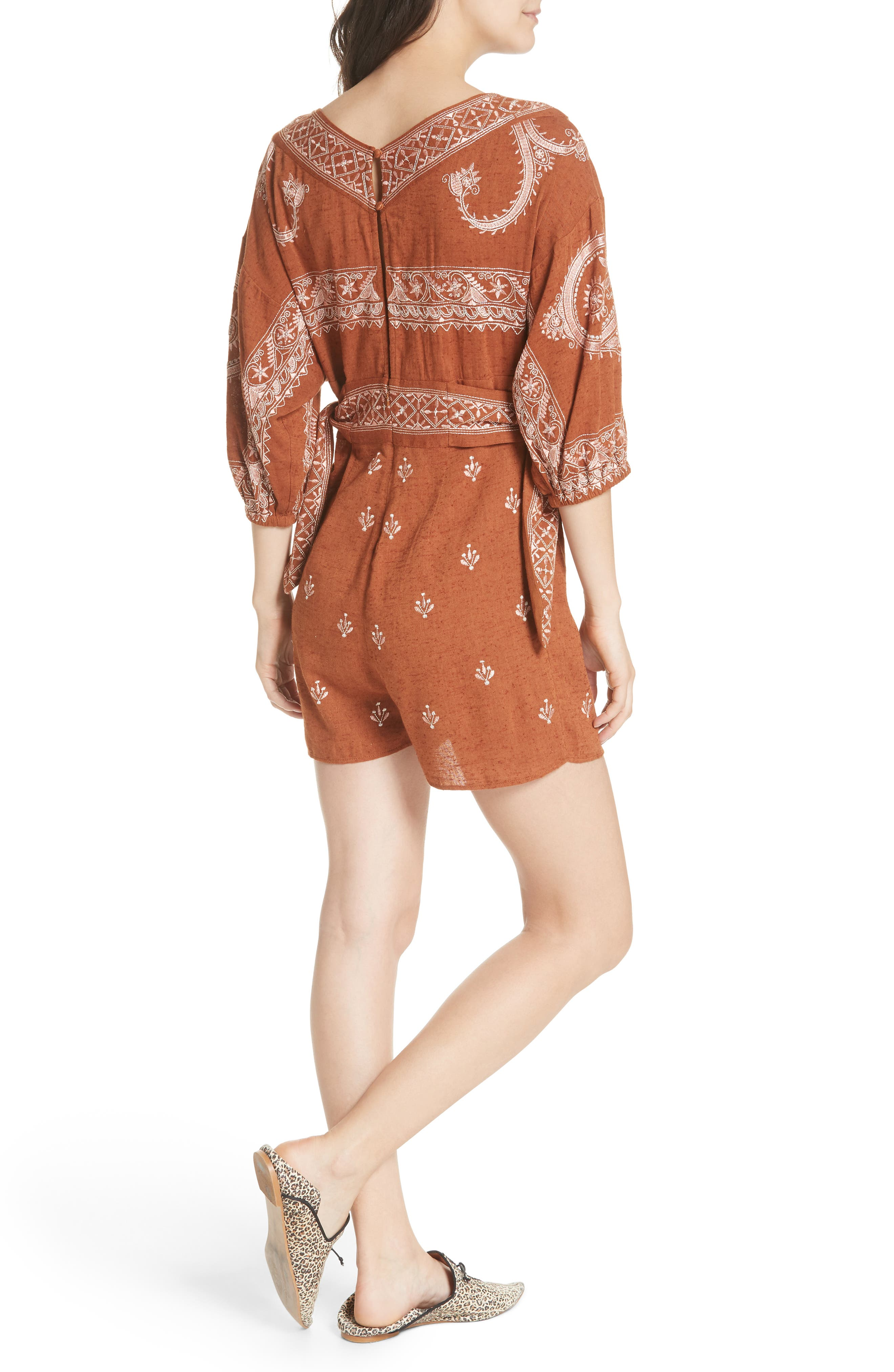 Azalia Romper,                             Alternate thumbnail 2, color,                             210