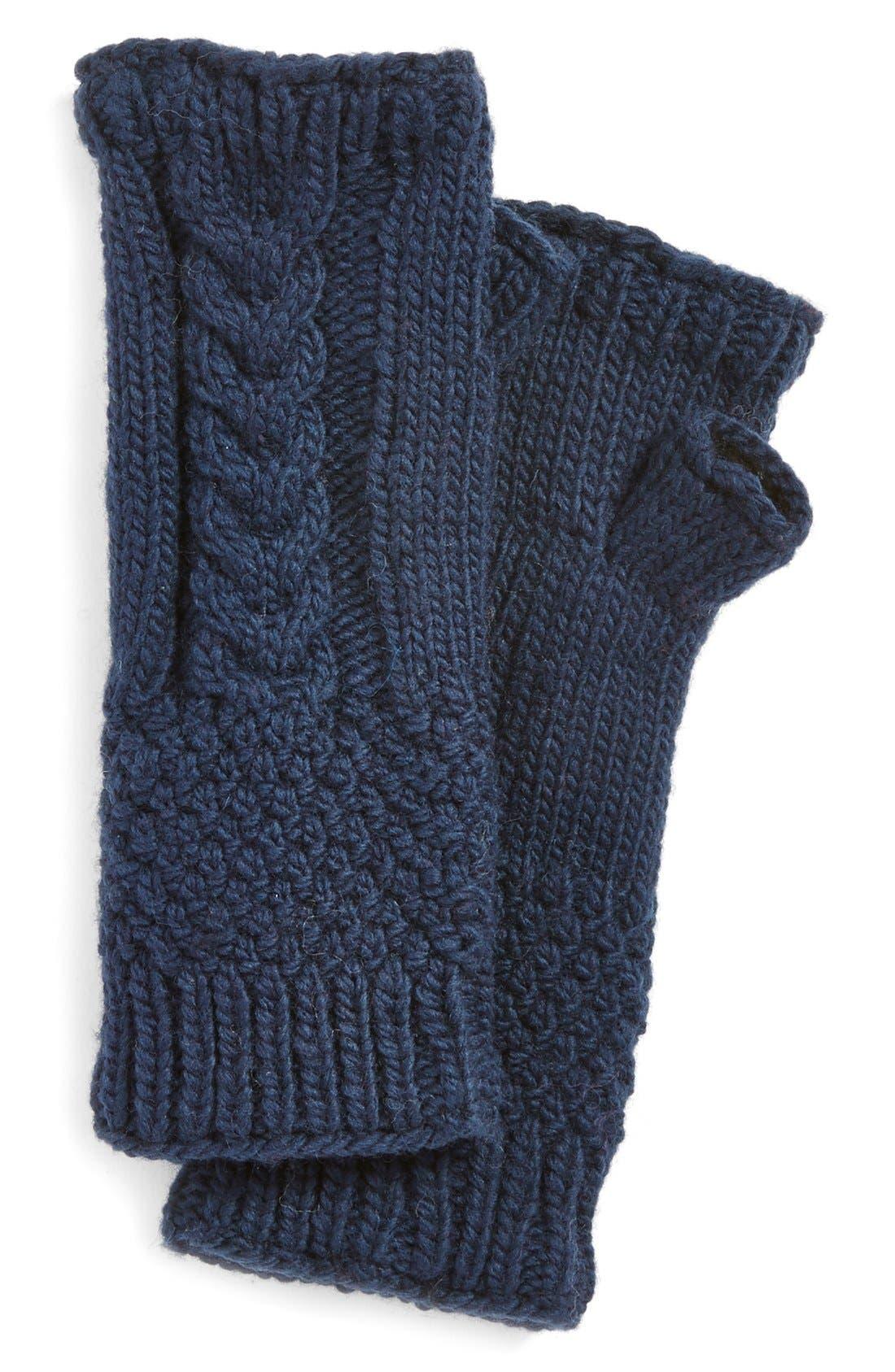 NirvannaDesigns Cable Knit Hand Warmers,                             Main thumbnail 6, color,