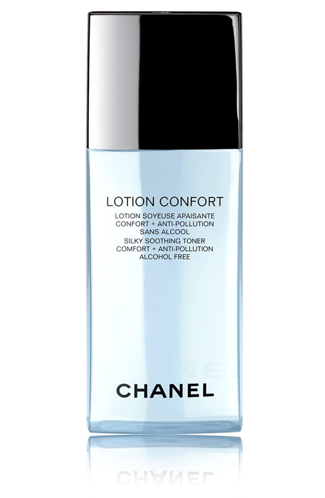 LOTION CONFORT<br />Silky Soothing Toner Comfort + Anti-Pollution,                             Main thumbnail 1, color,