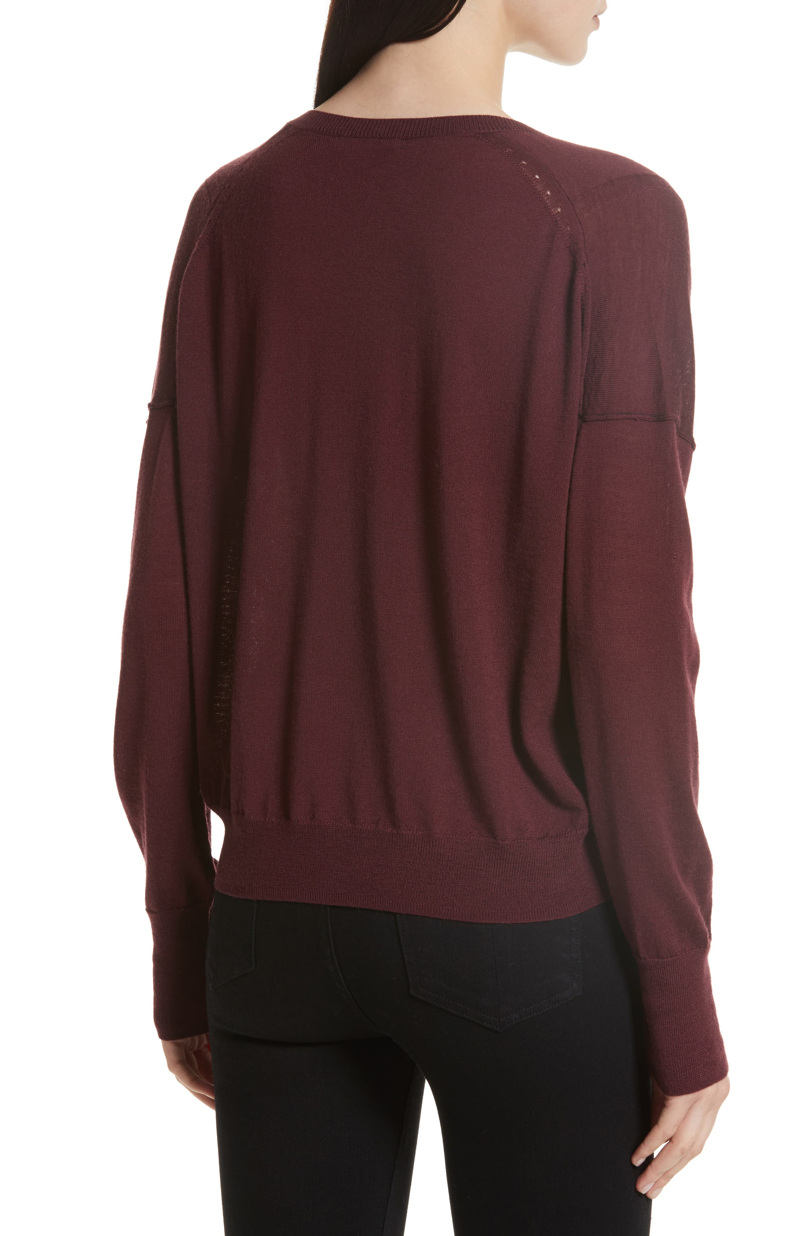 Bevan Merino Wool Sweater,                             Alternate thumbnail 2, color,                             618