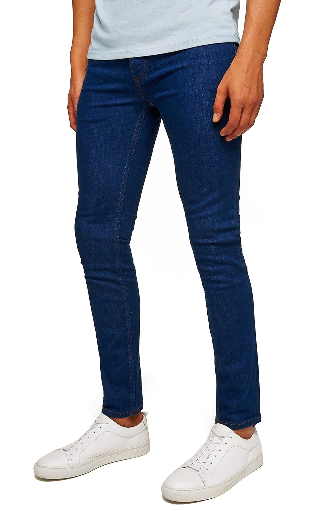 Stretch Skinny Fit Jeans,                         Main,                         color, 400