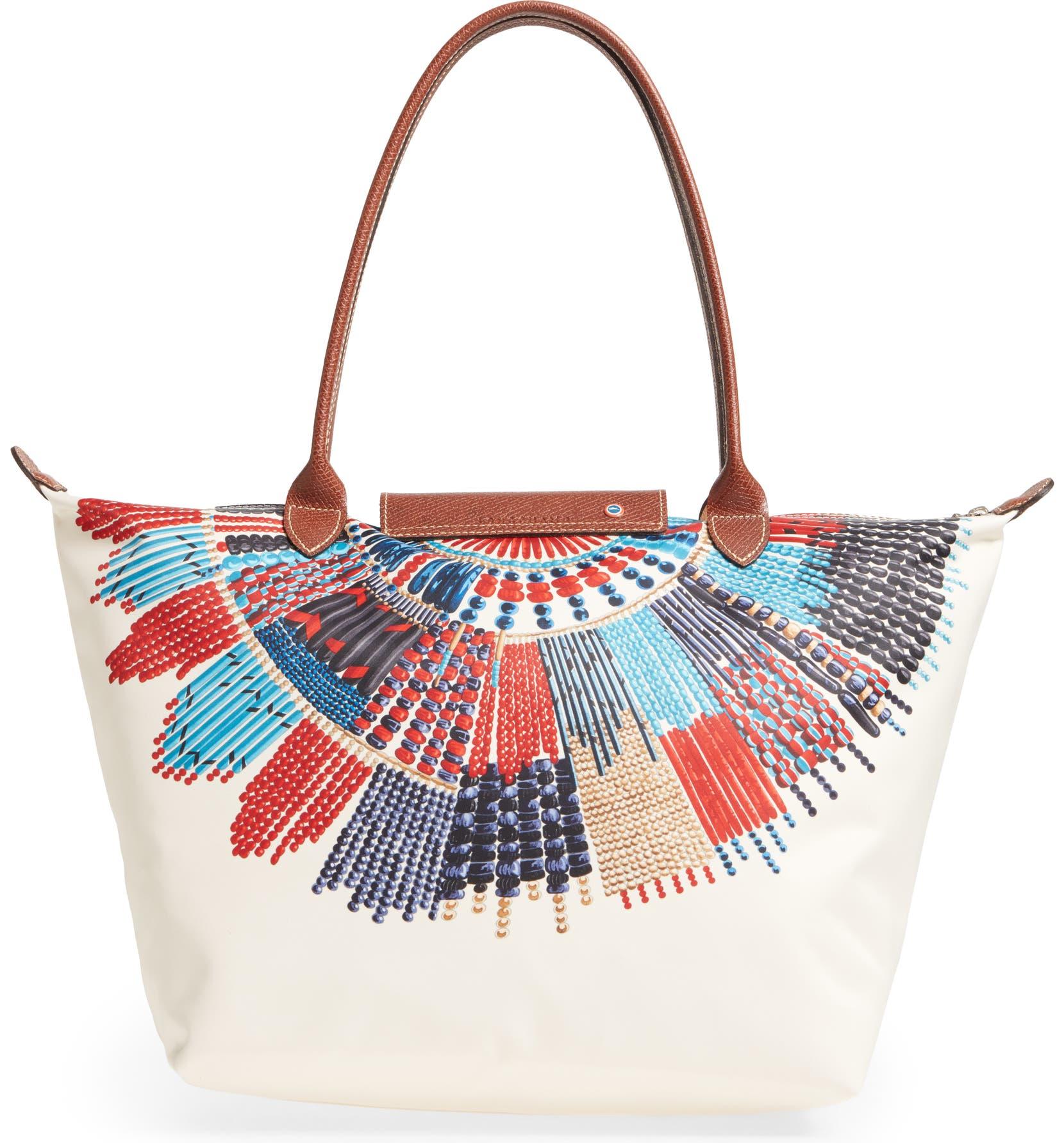 1355747848c6 Longchamp Large Le Pliage - Massai Collier Tote