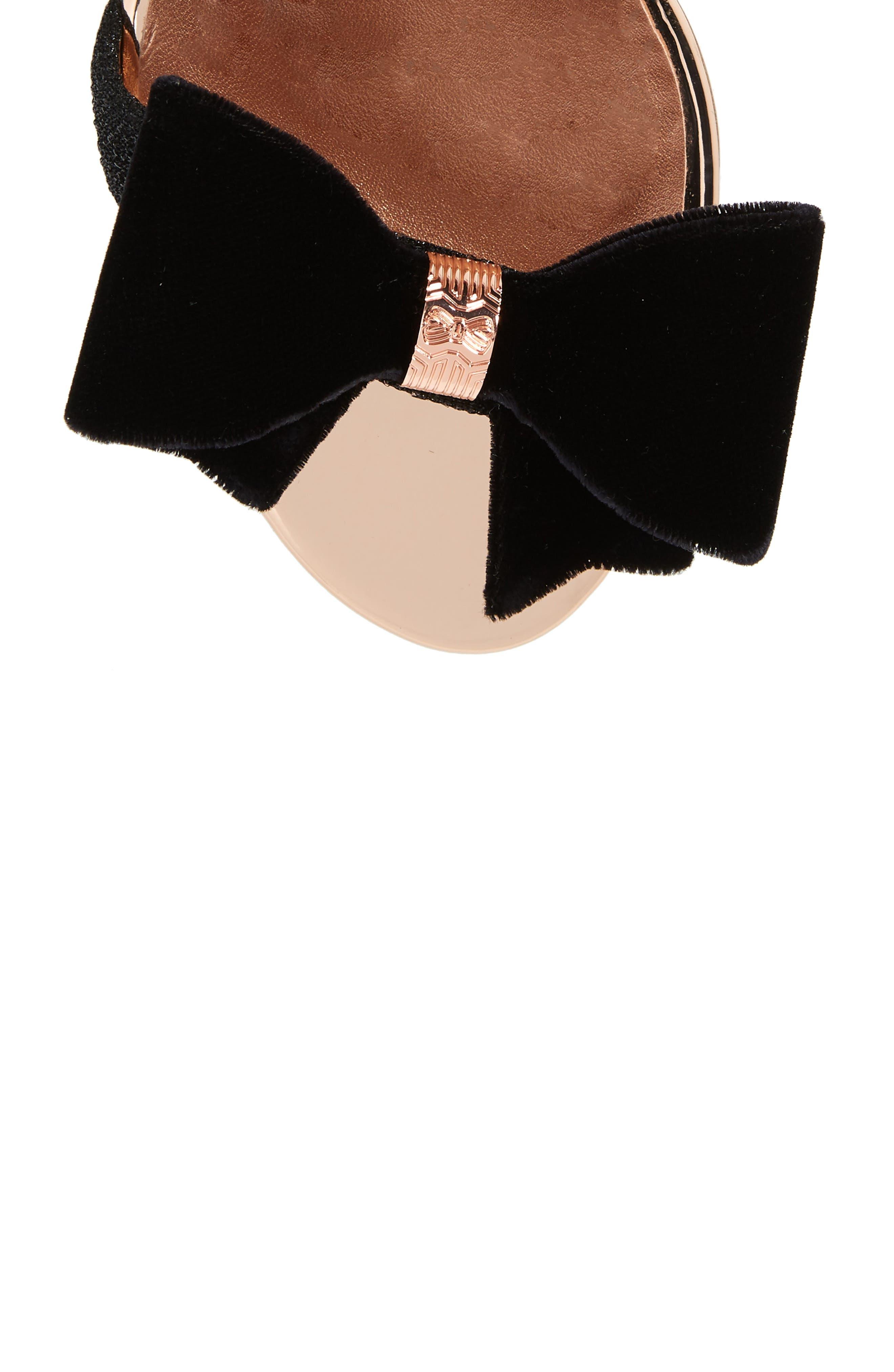 Bowdalo Sandal,                             Alternate thumbnail 5, color,                             BLACK
