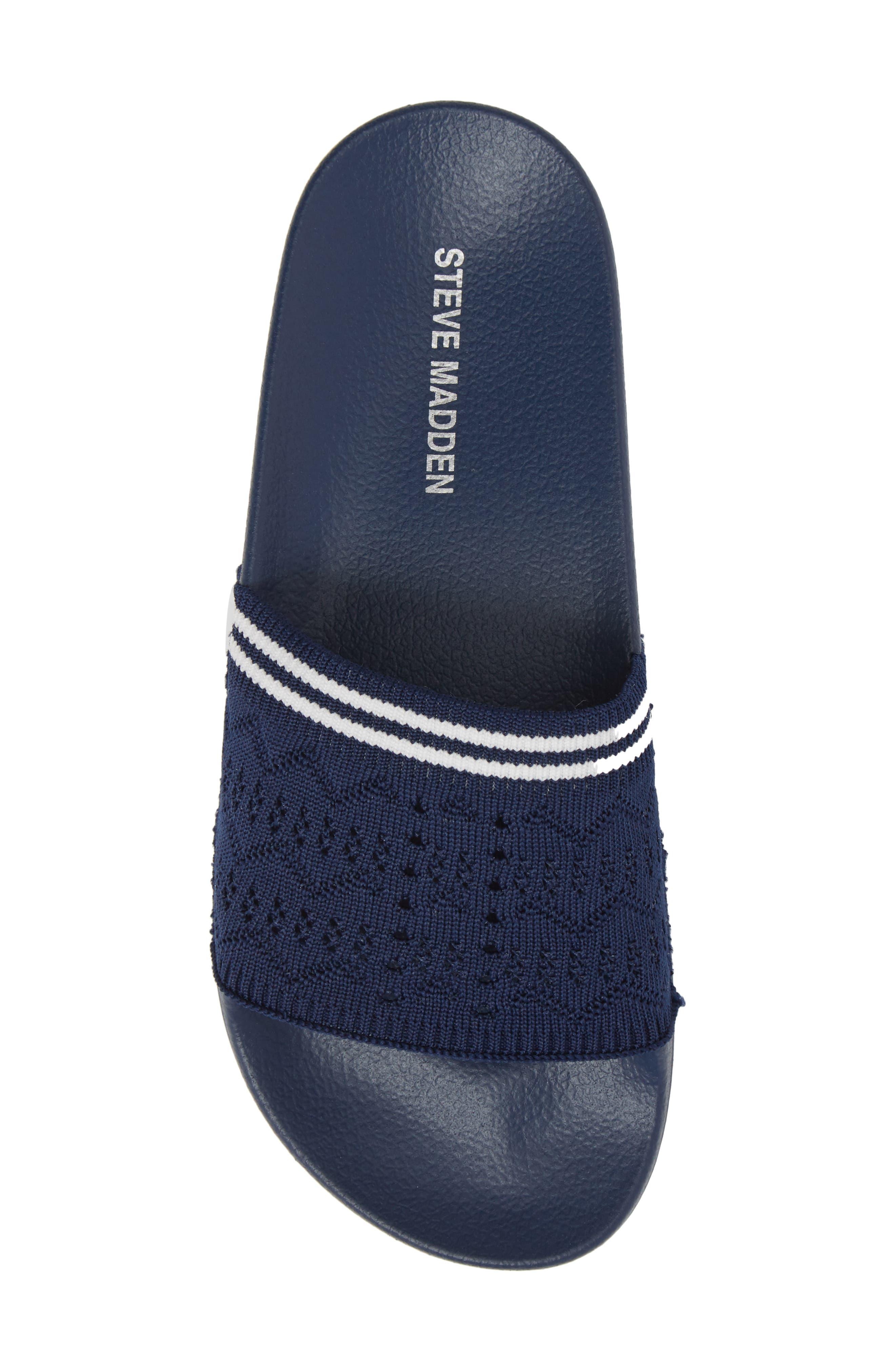 Vibe Sock Knit Slide Sandal,                             Alternate thumbnail 23, color,