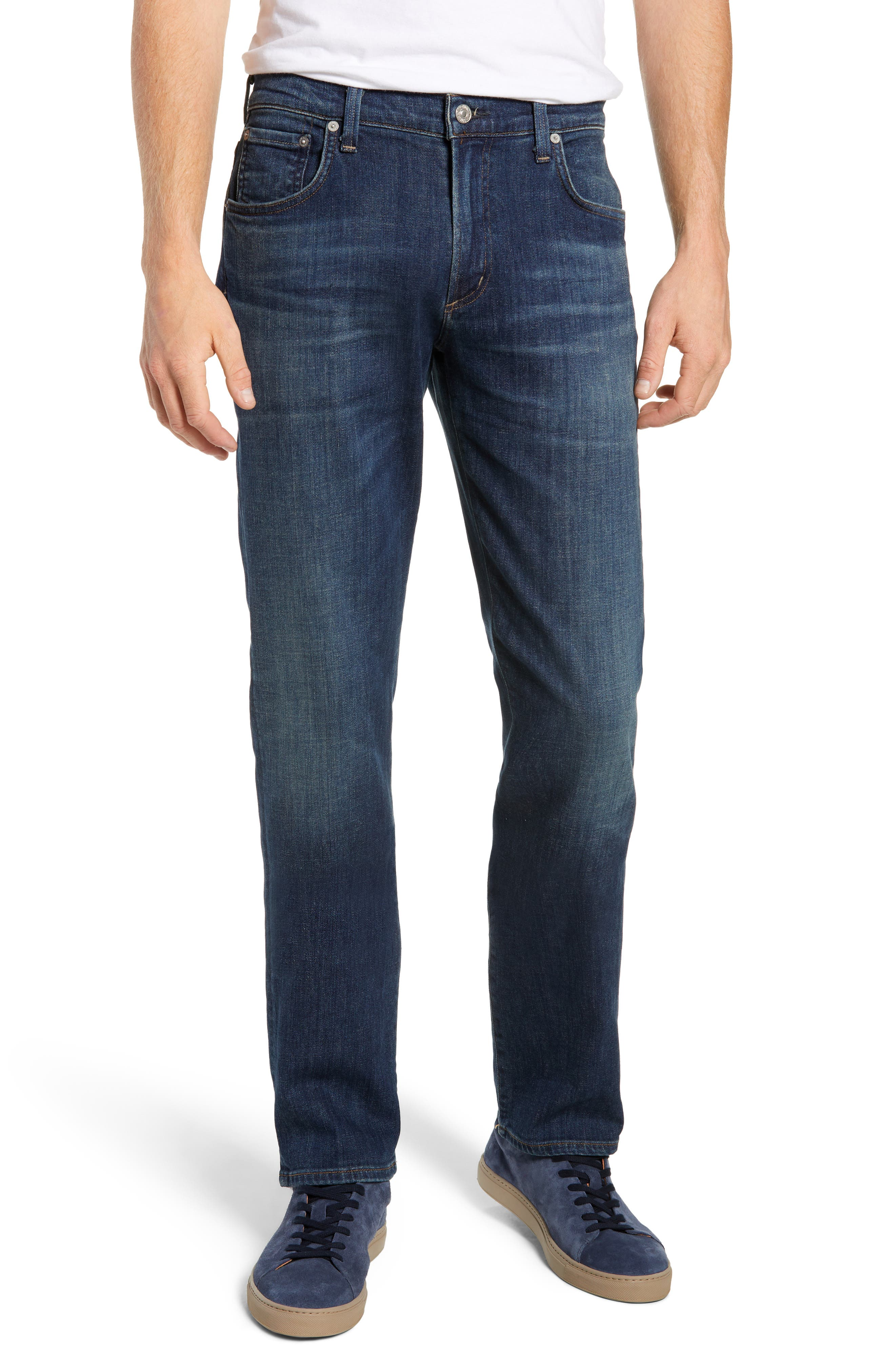 Gage Slim Straight Leg Jeans,                             Main thumbnail 1, color,                             EUGENE