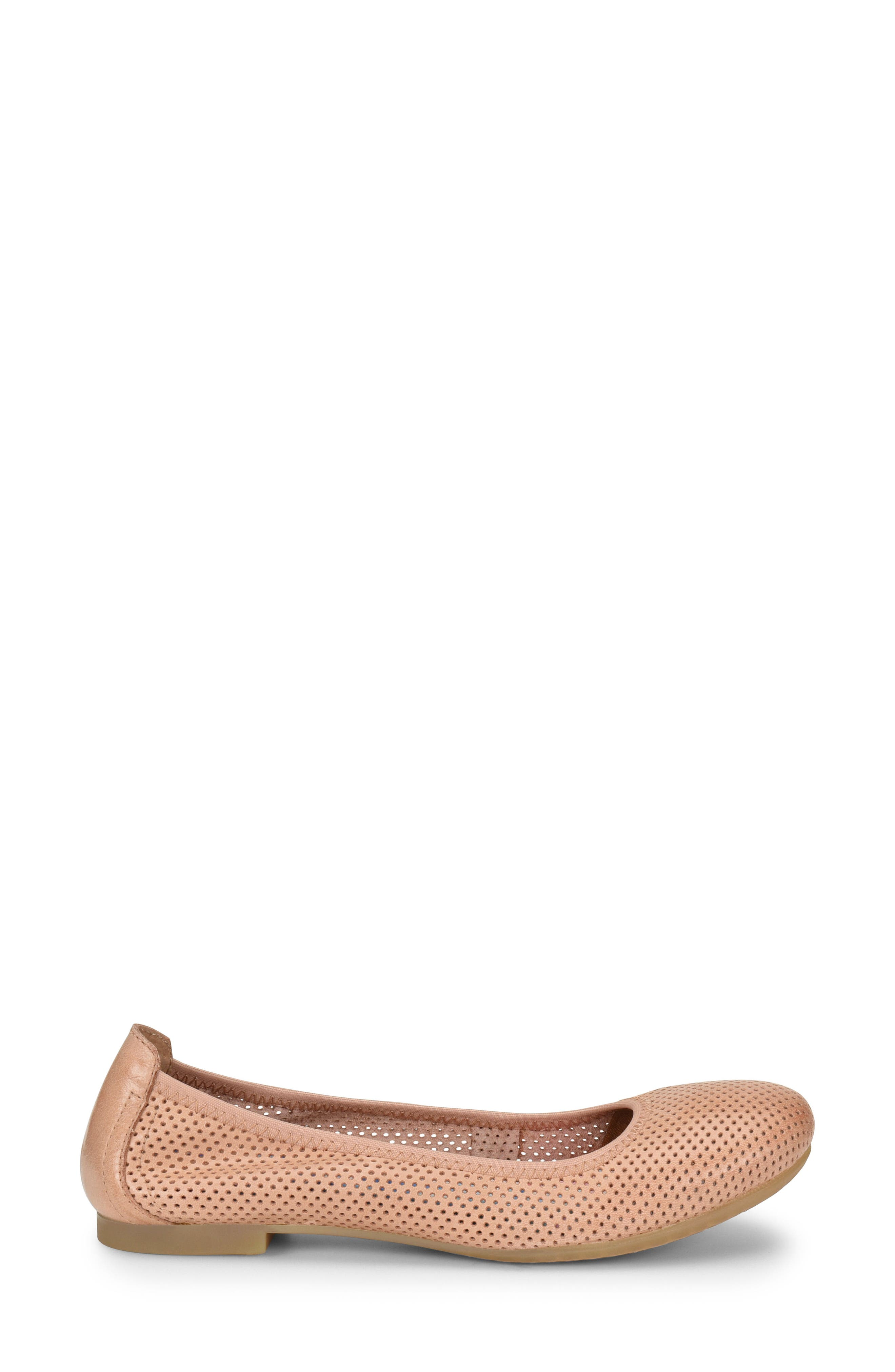Julianne Perforated Flat,                             Alternate thumbnail 12, color,