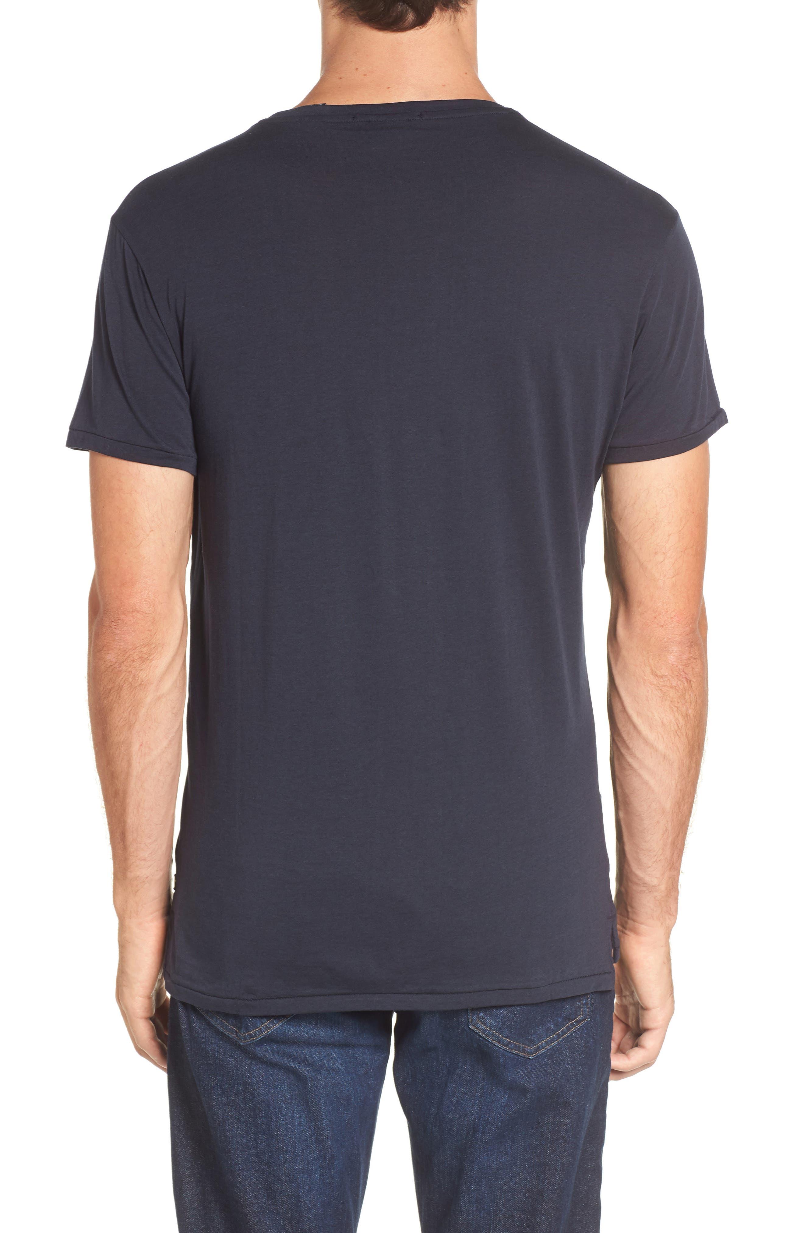 Chic Crewneck T-Shirt,                             Alternate thumbnail 2, color,                             401