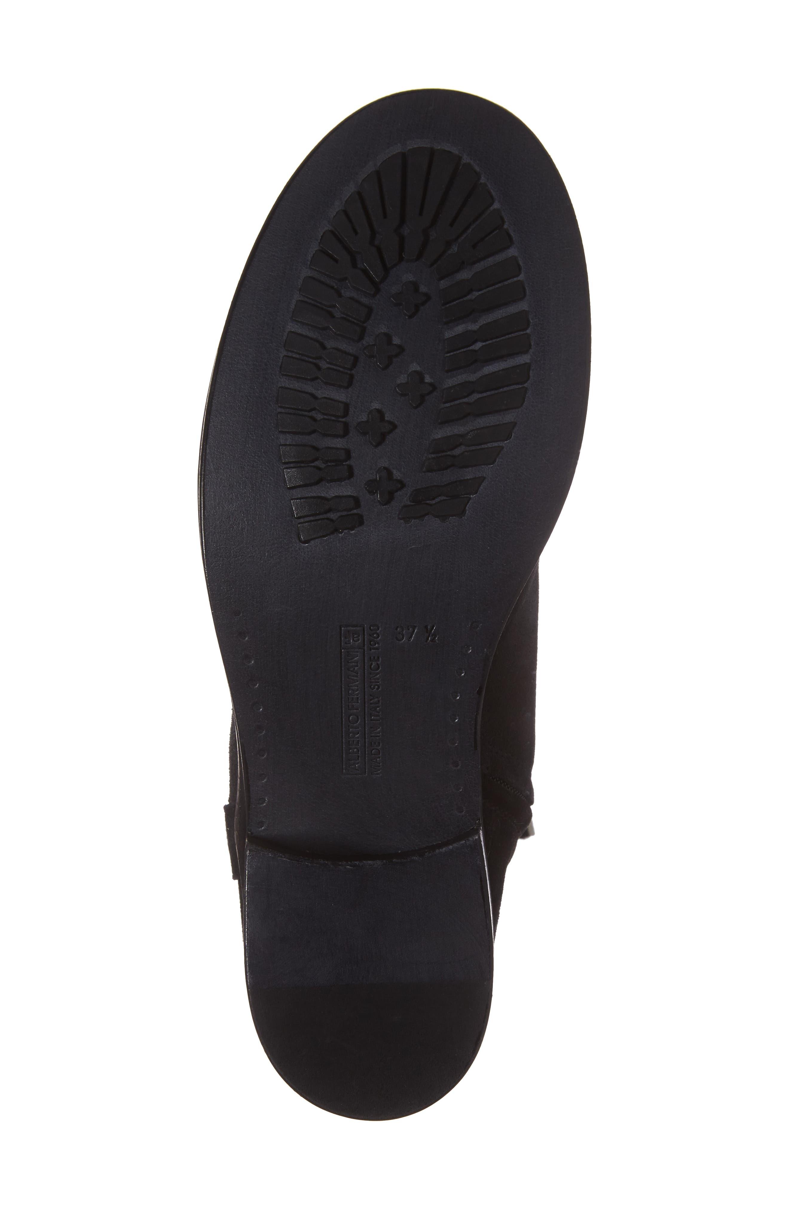 Palmira Knee High Boot,                             Alternate thumbnail 6, color,                             001