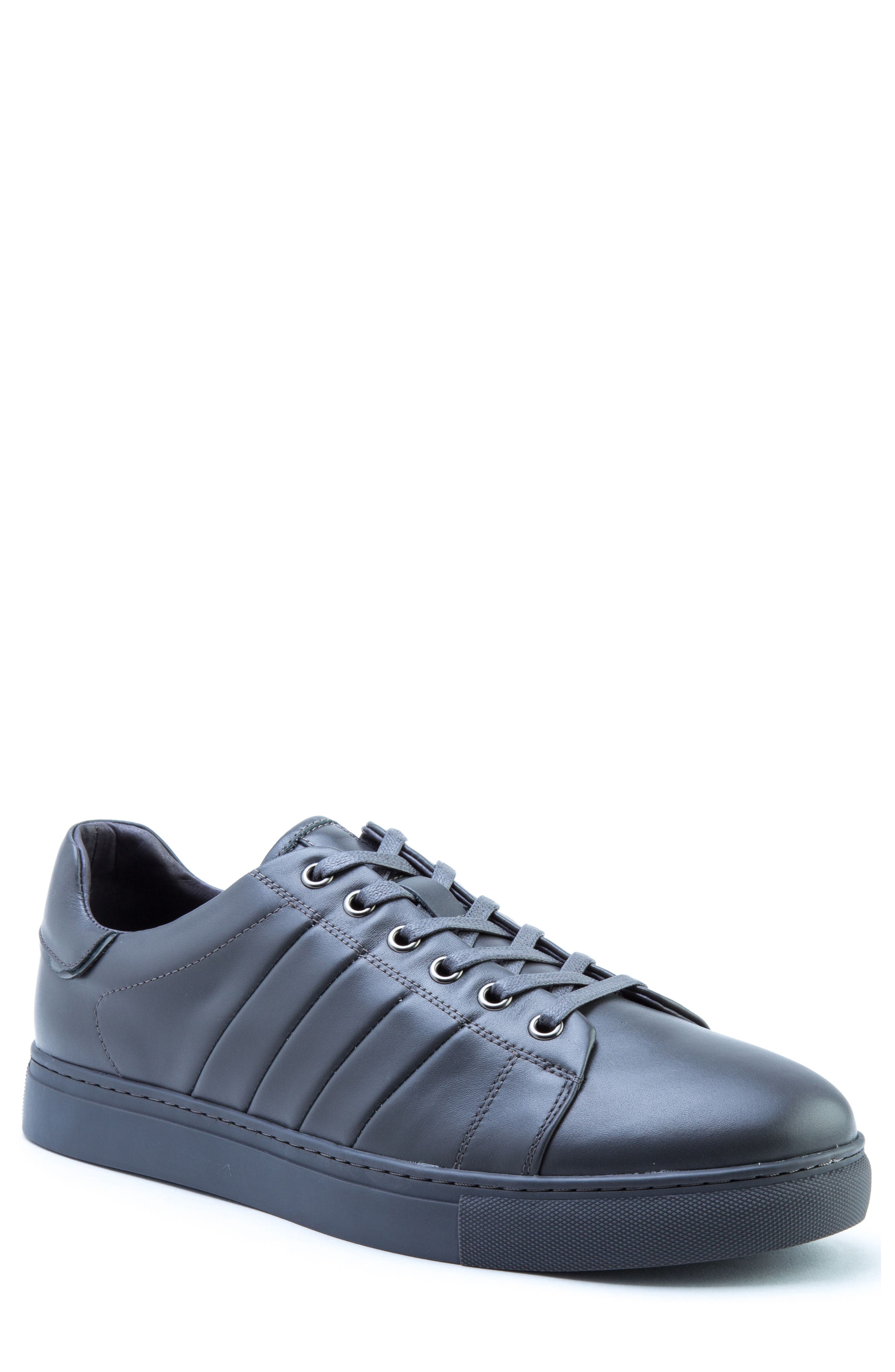 Mitchell Sneaker,                         Main,                         color, GREY LEATHER