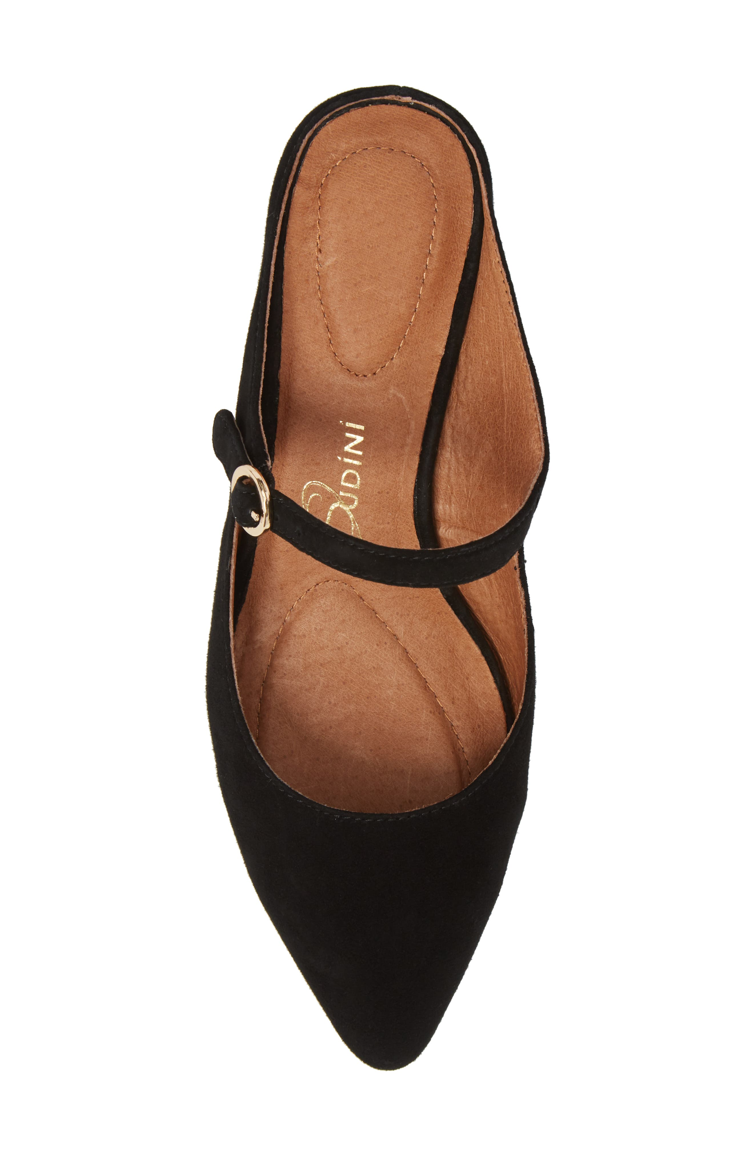 Barletta Mary Jane Mule,                             Alternate thumbnail 5, color,                             BLACK SUEDE