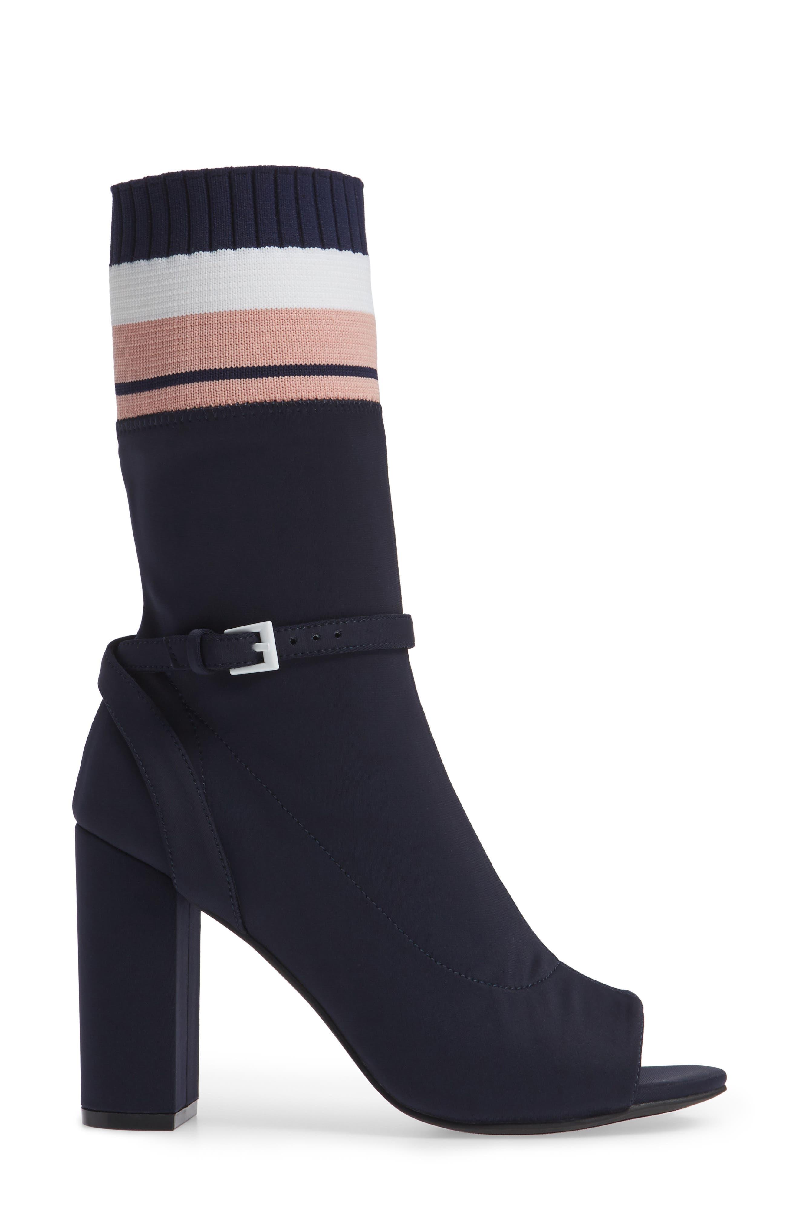 Nila-2 Sock Bootie,                             Alternate thumbnail 3, color,                             487