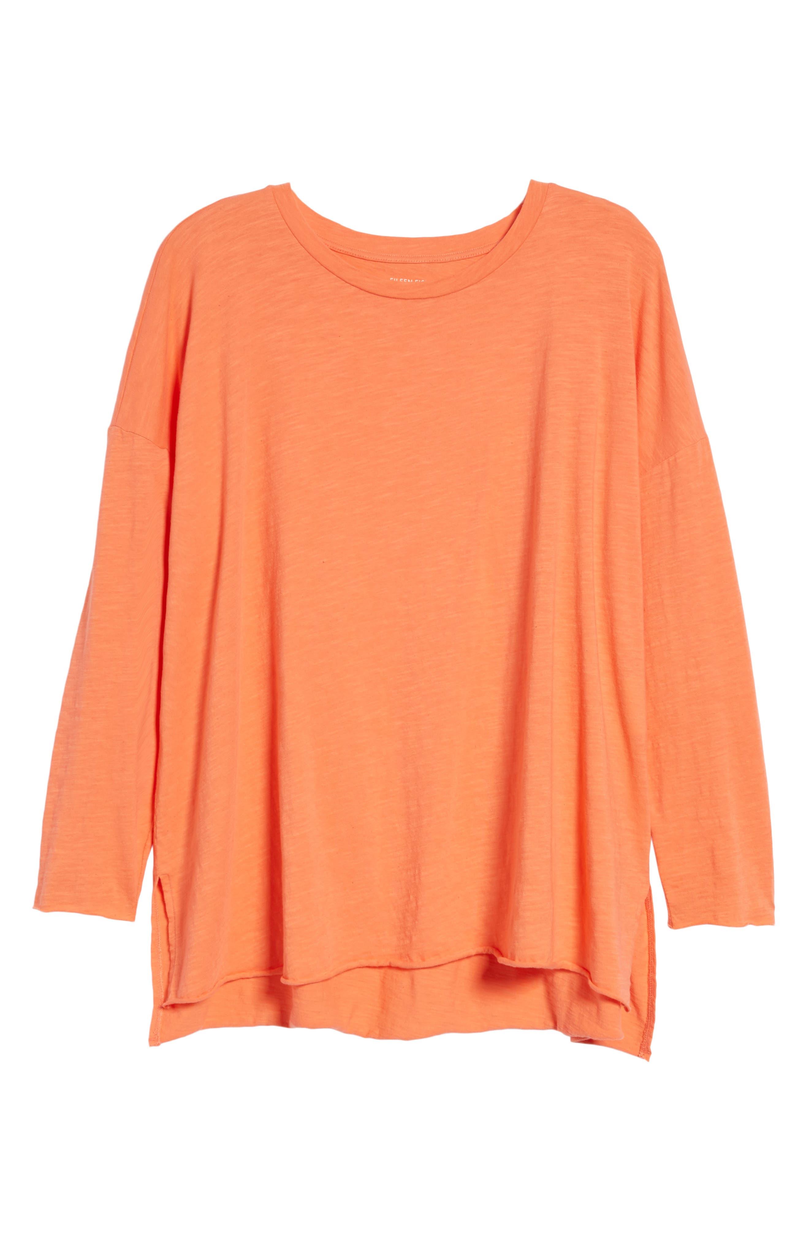 Organic Cotton Knit Top,                             Alternate thumbnail 54, color,