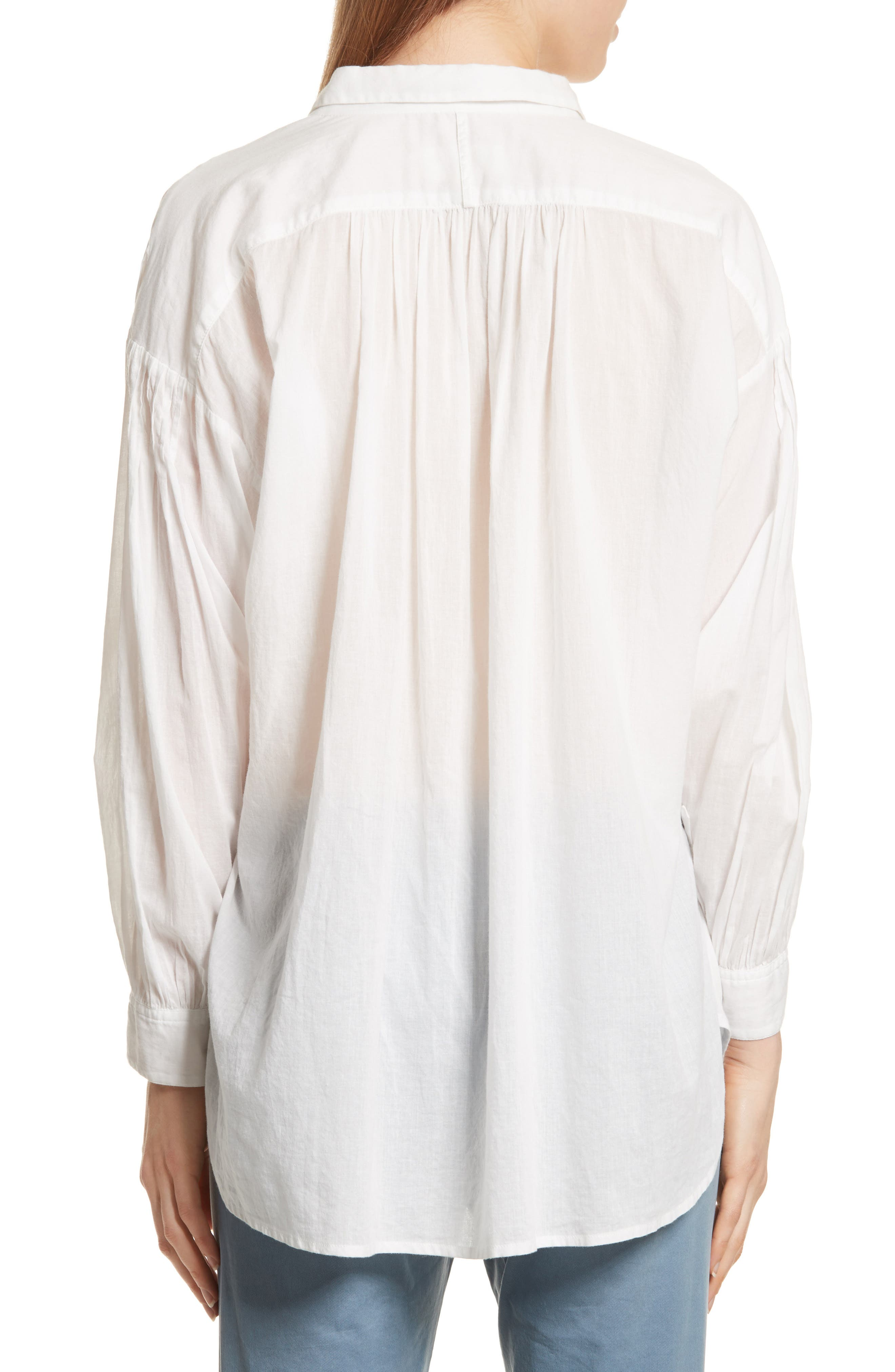 Miles Gathered Yoke Blouse,                             Alternate thumbnail 2, color,                             902