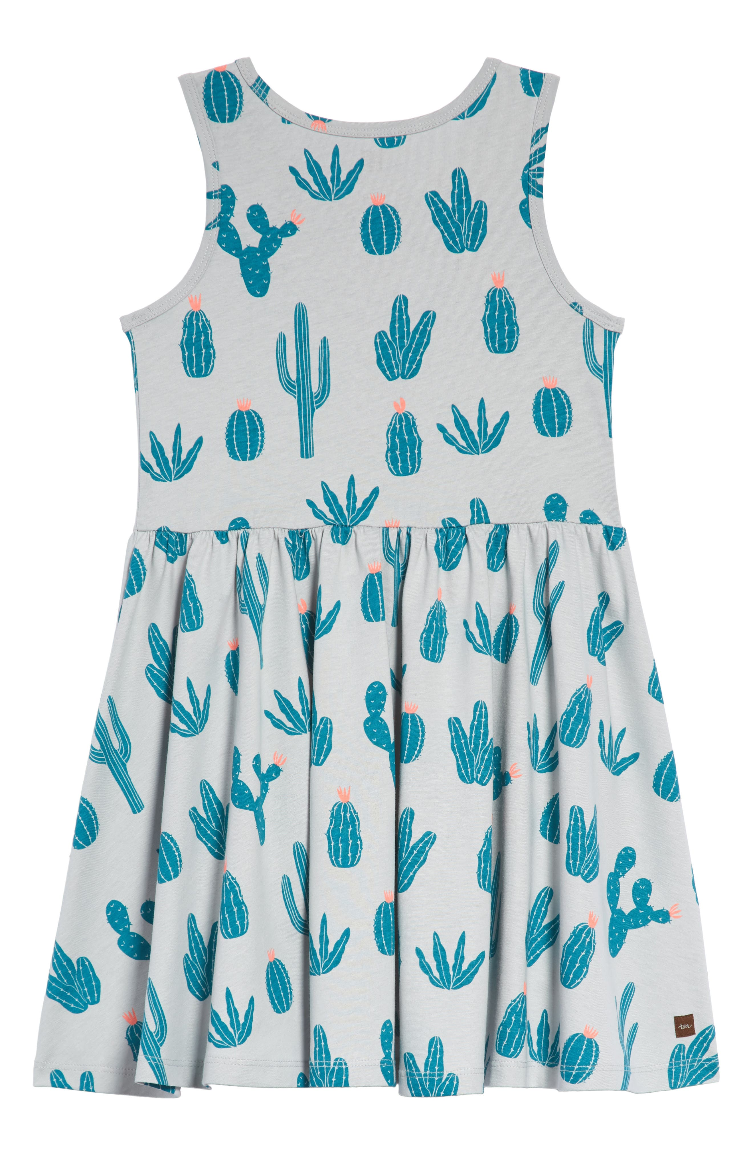Print Skirted Tank Dress,                             Alternate thumbnail 2, color,                             020