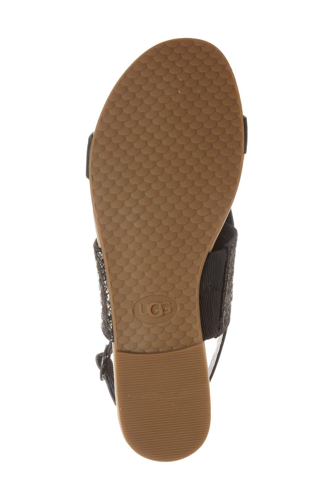 'Verona' Slingback Sandal,                             Alternate thumbnail 2, color,                             001