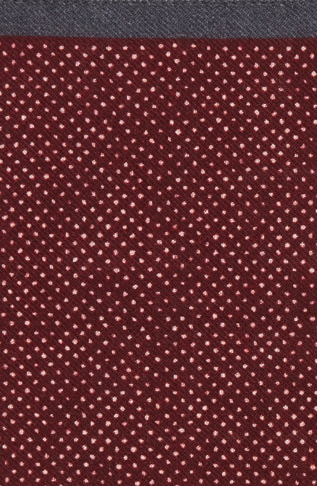 Dot Wool Pocket Square,                             Alternate thumbnail 6, color,