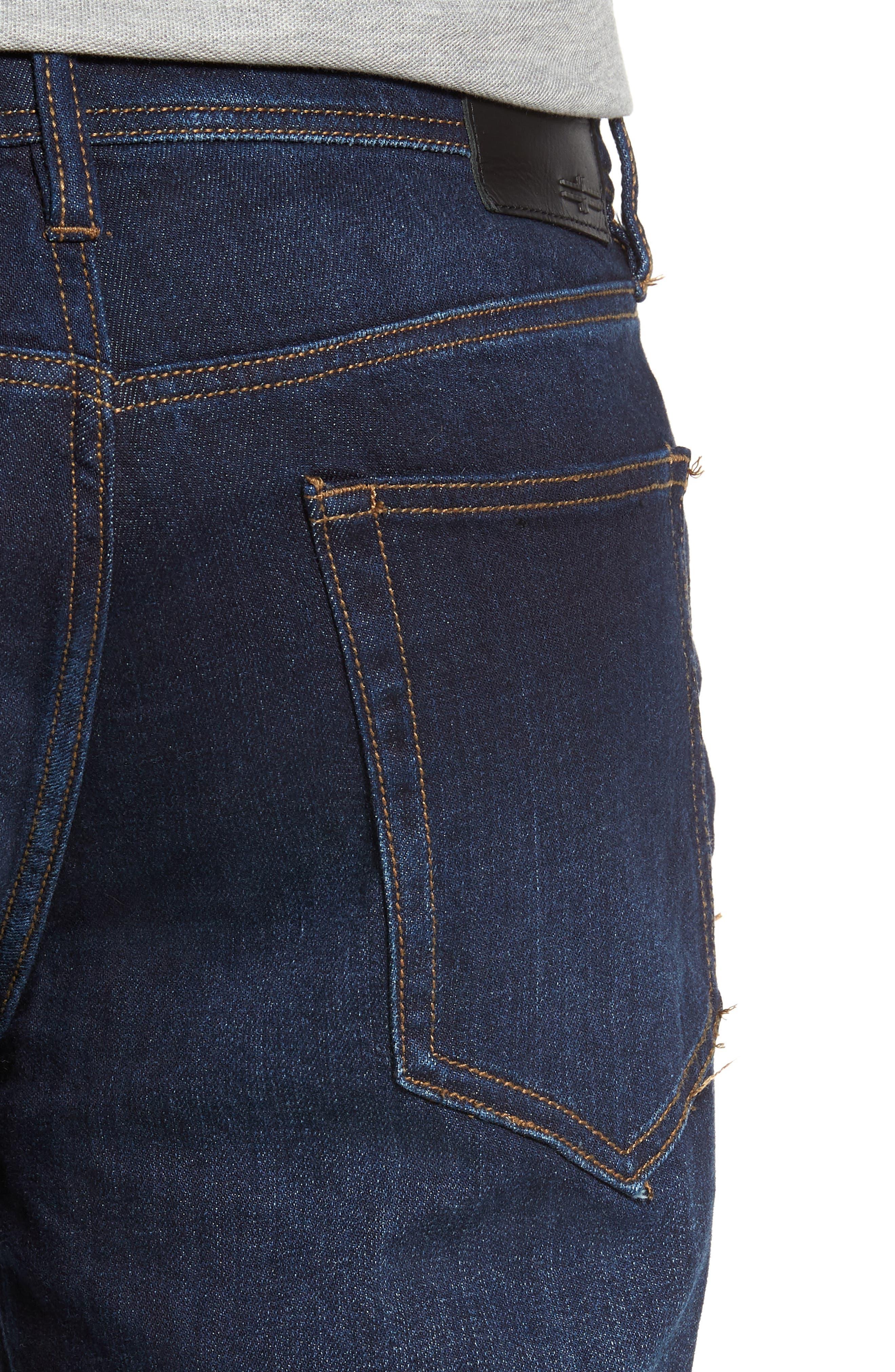 Jeans Co. Regent Relaxed Fit Jeans,                             Alternate thumbnail 4, color,                             SAN ARDO VINTAGE DARK