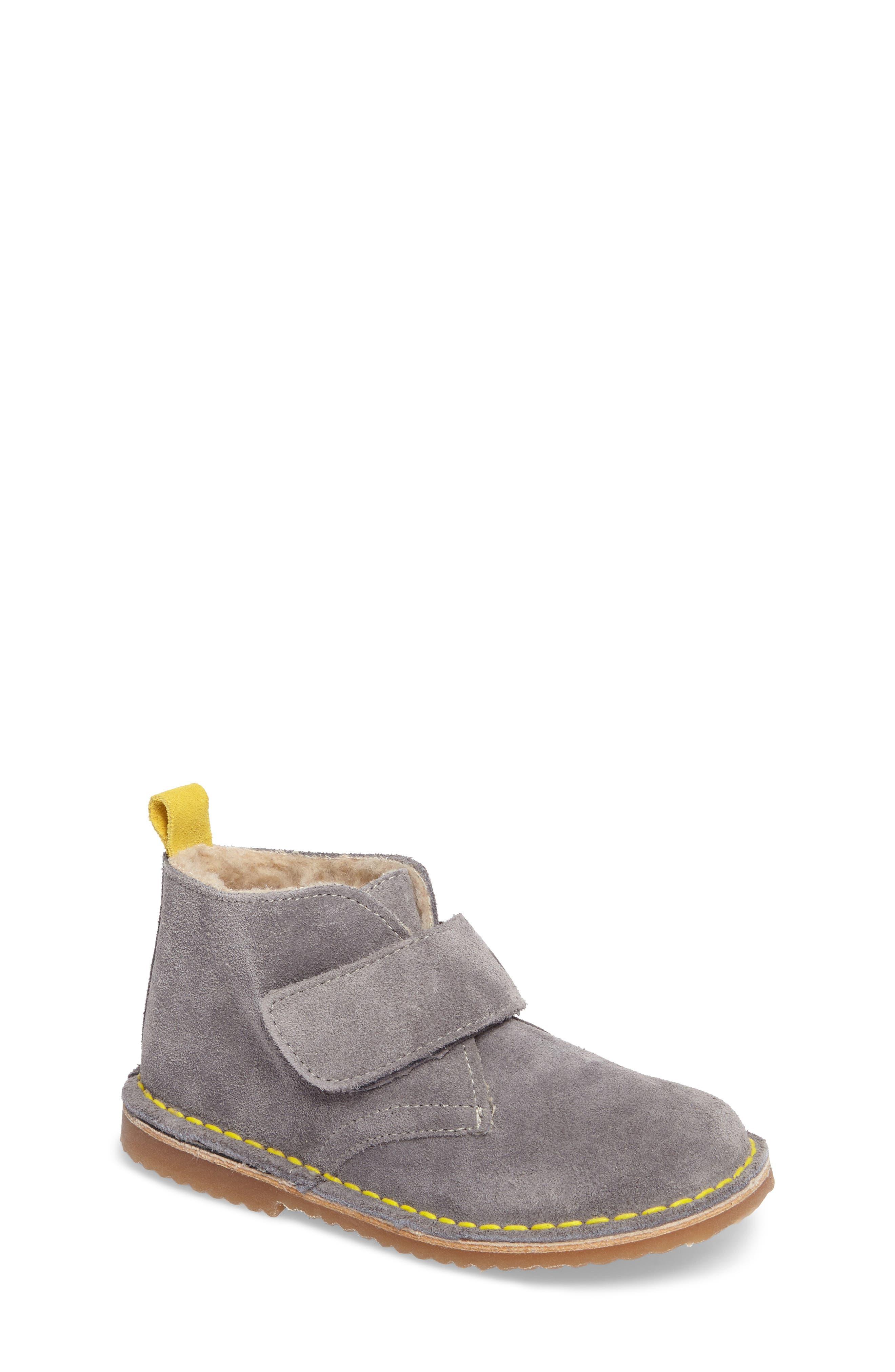Faux Fur Desert Boot,                         Main,                         color, 034
