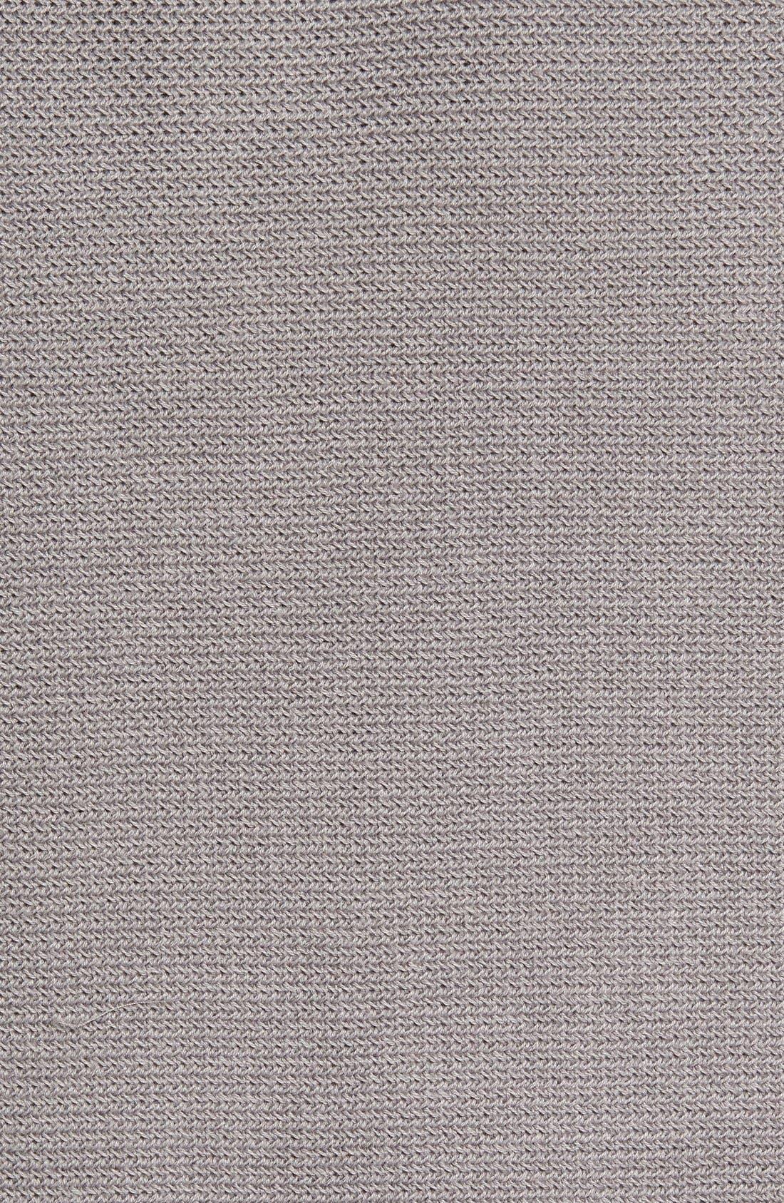 'Benson' Quarter Zip Textured Knit Sweater,                             Alternate thumbnail 8, color,