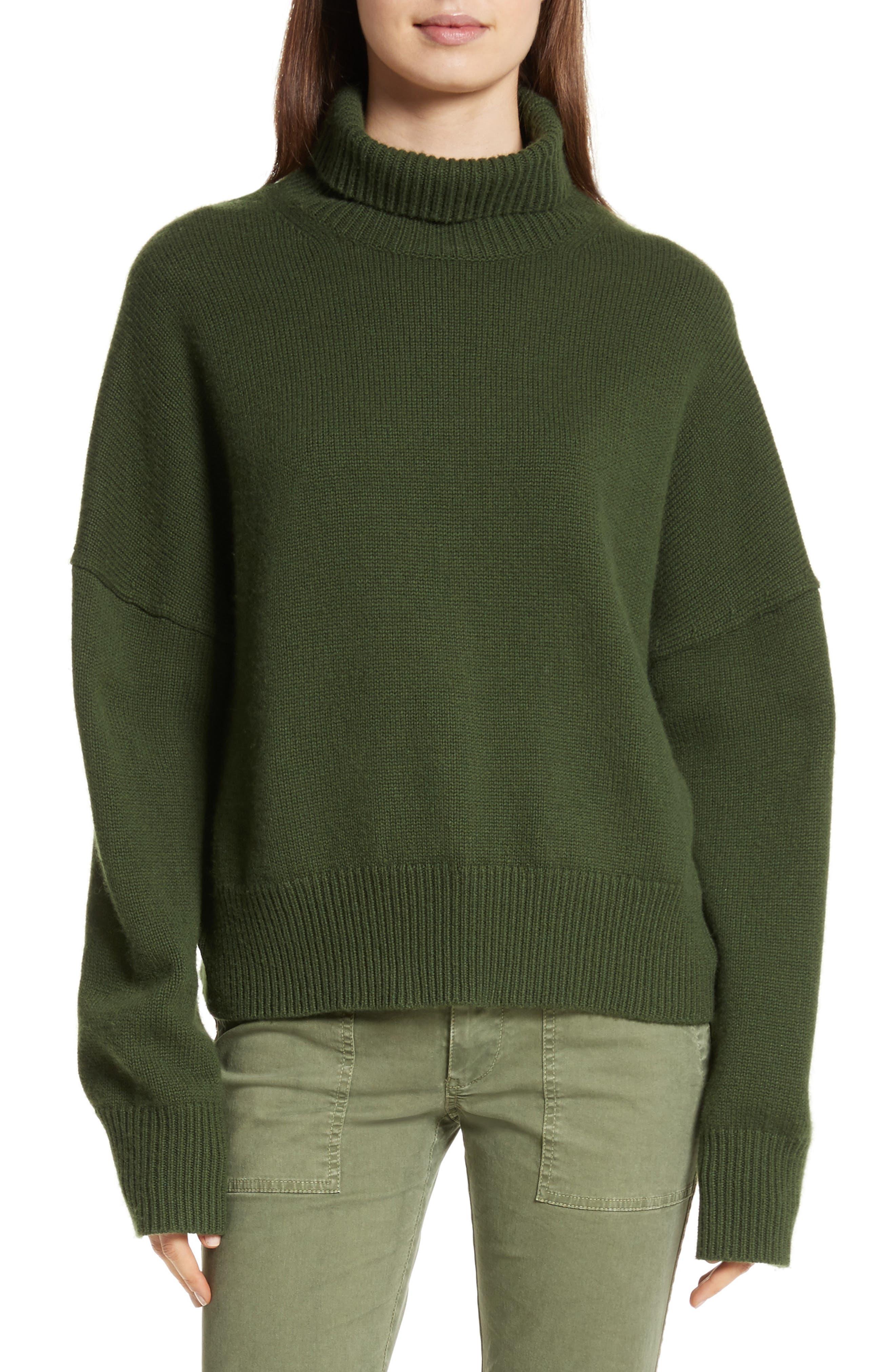 Serinda Wool & Cashmere Turtleneck Sweater,                             Main thumbnail 1, color,                             303