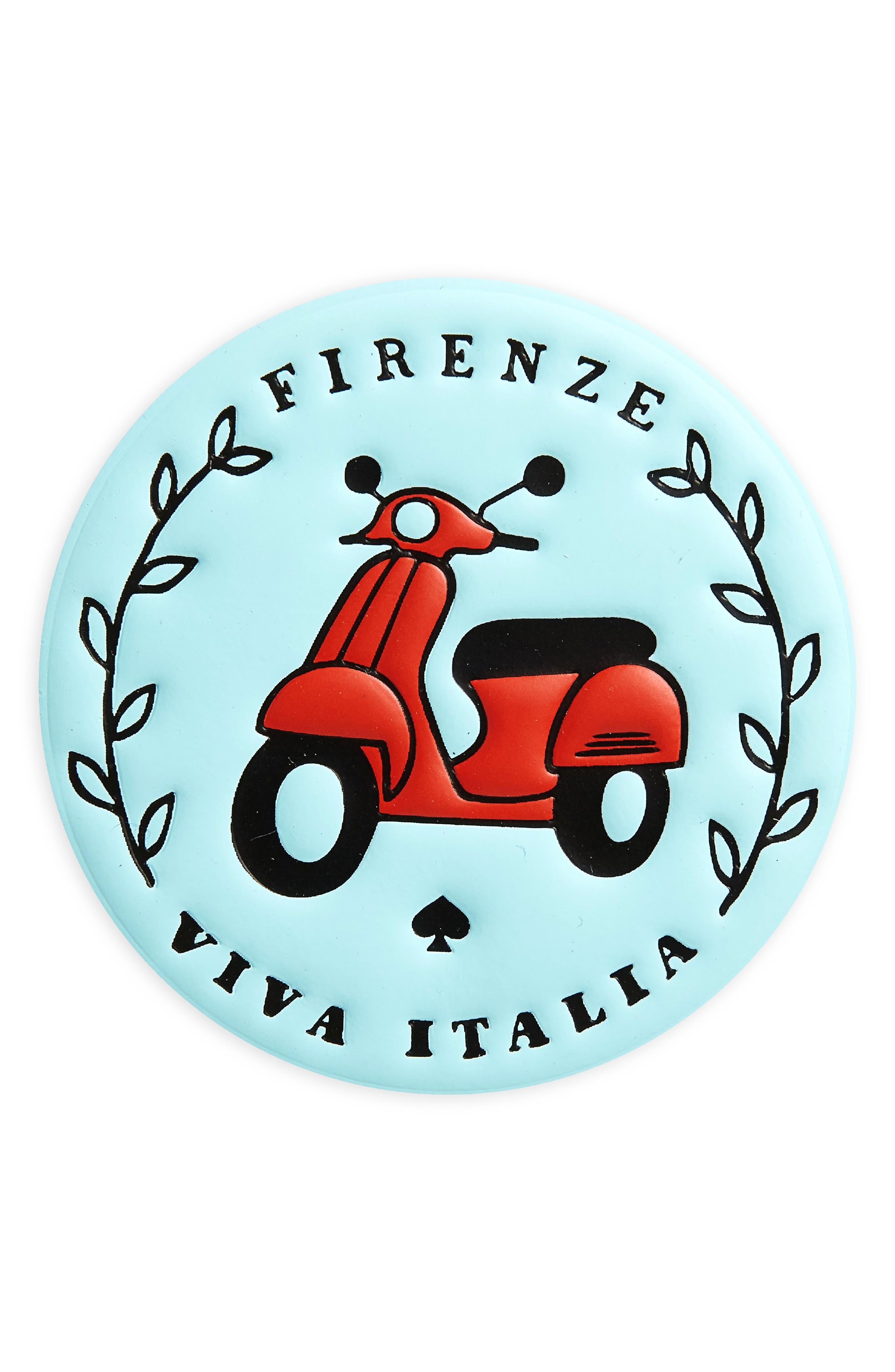 ashe place firenze - viva italia leather permanent sticker,                         Main,                         color, 400