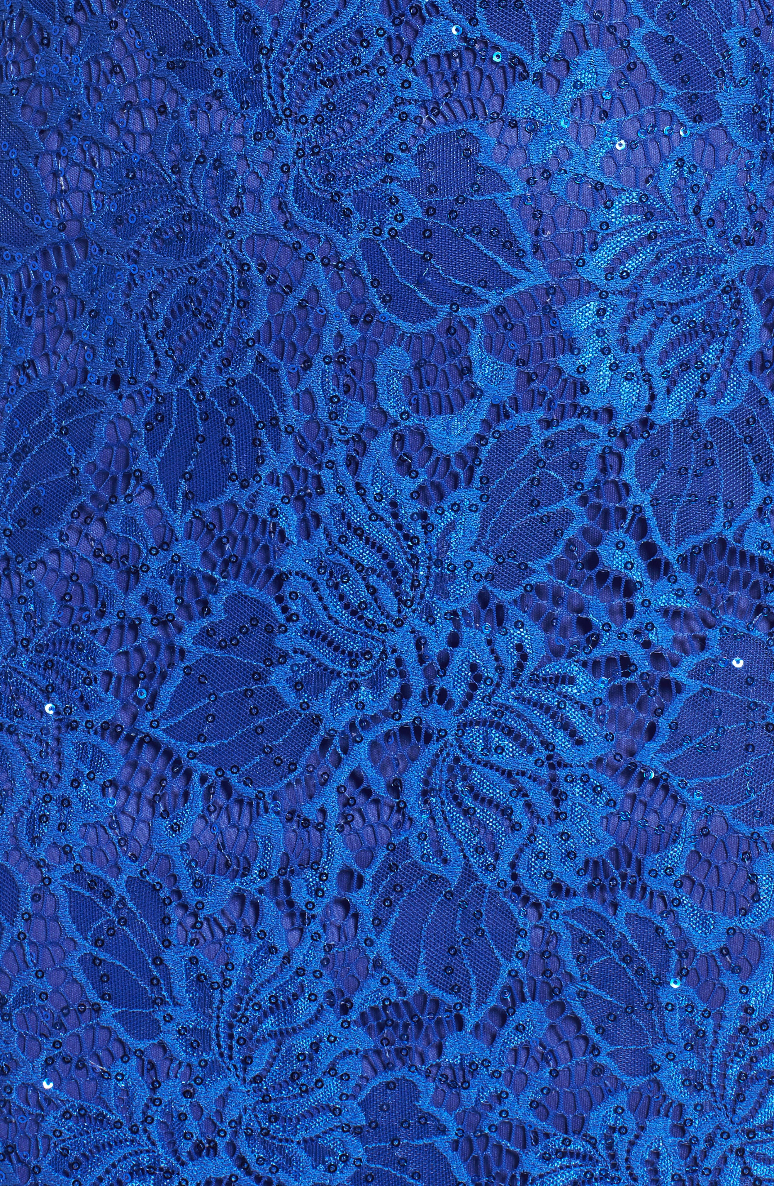 Illusion Lace Gown,                             Alternate thumbnail 10, color,