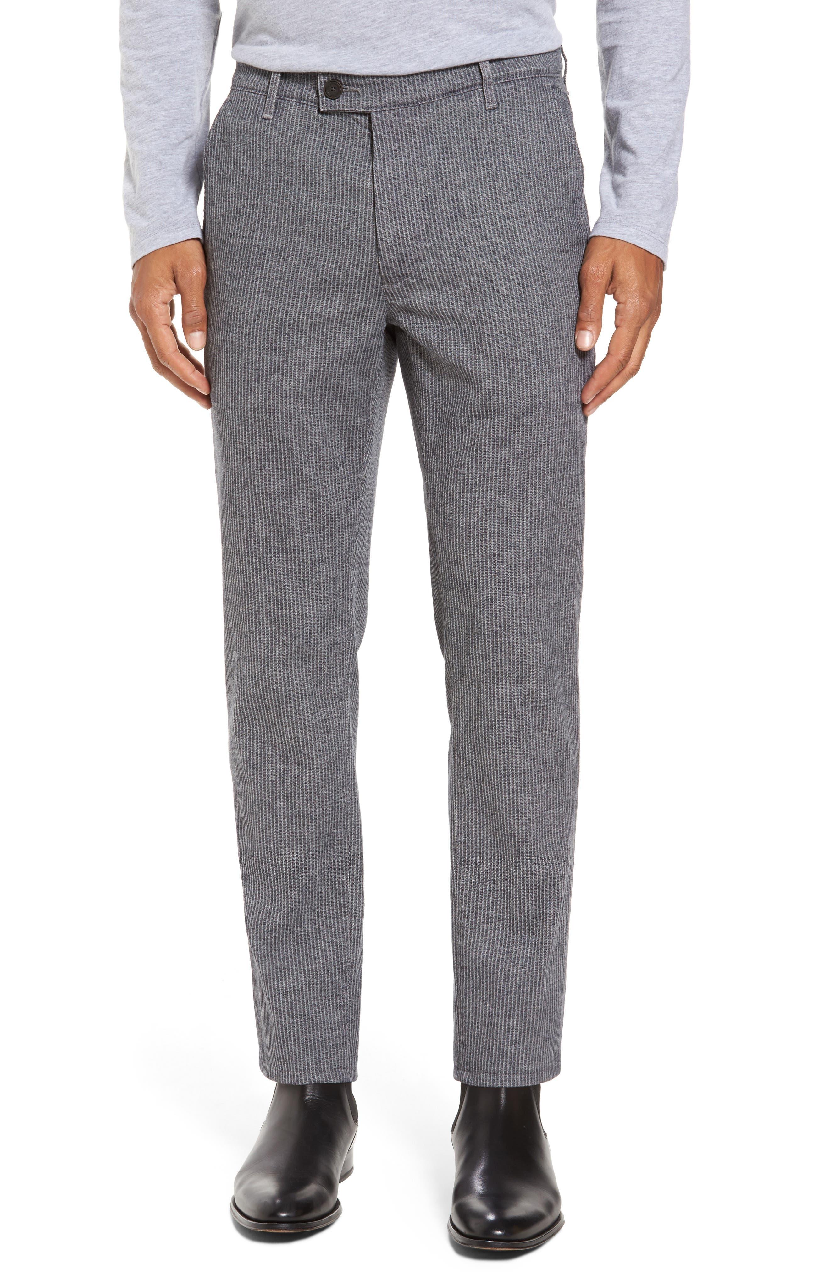 Marshall Slim Fit Pinstripe Pants,                             Main thumbnail 1, color,                             028