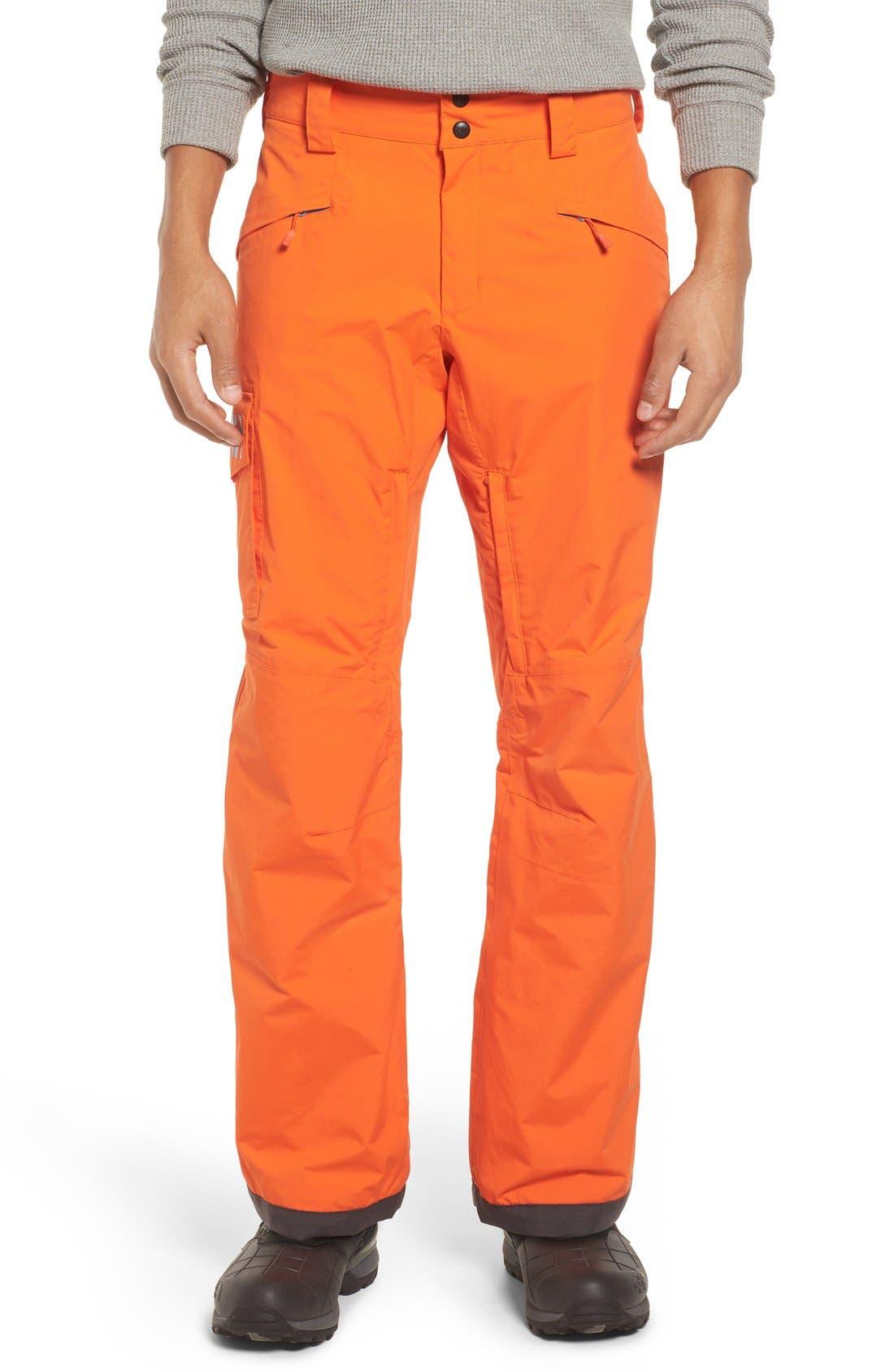 'Sogn' Waterproof PrimaLoft<sup>®</sup> Cargo Snow Pants,                             Main thumbnail 6, color,