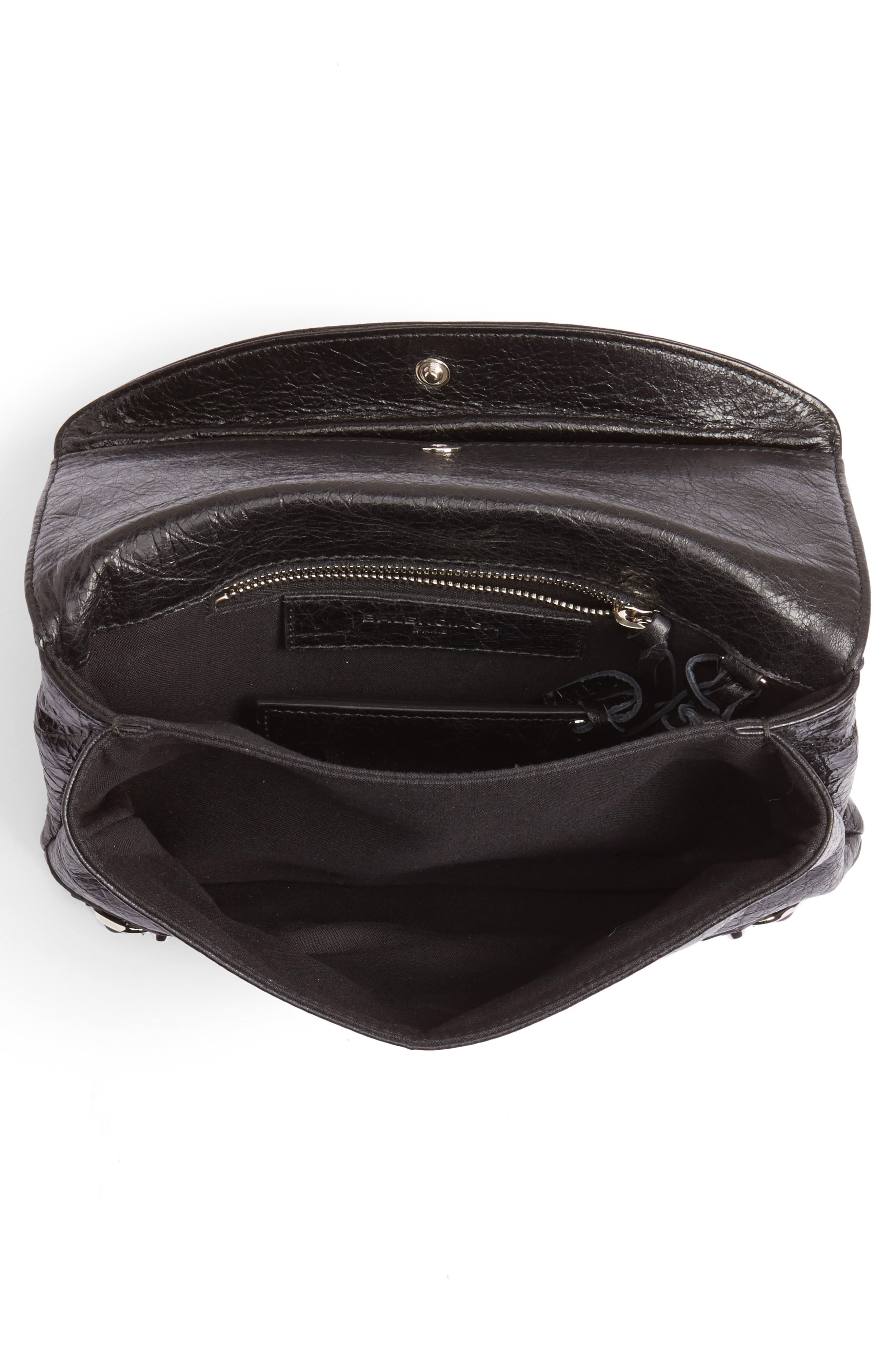 Classic Mini Envelope Crossbody Bag,                             Alternate thumbnail 4, color,                             001