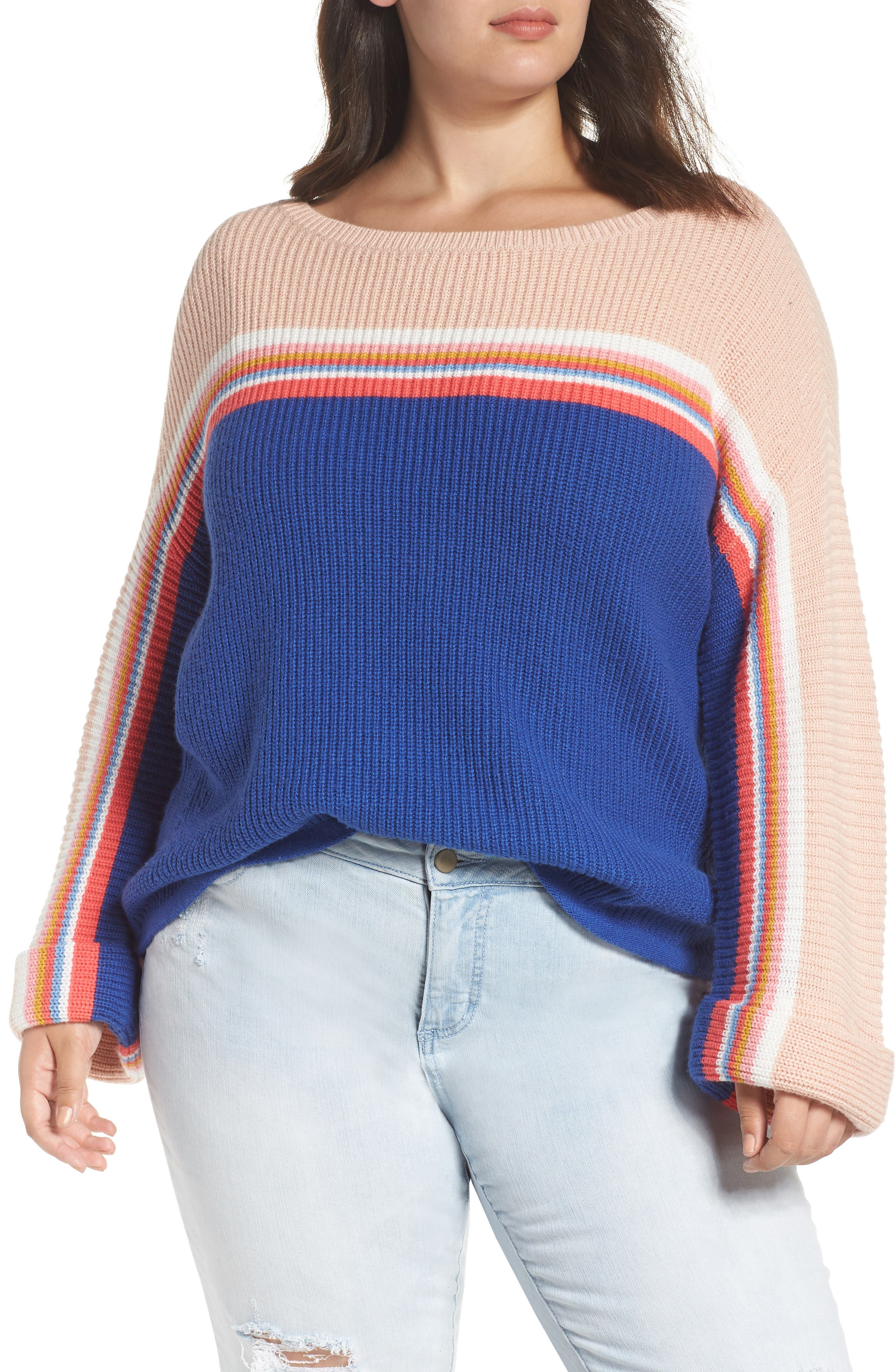 Shaker Stitch Sweater,                         Main,                         color, 401
