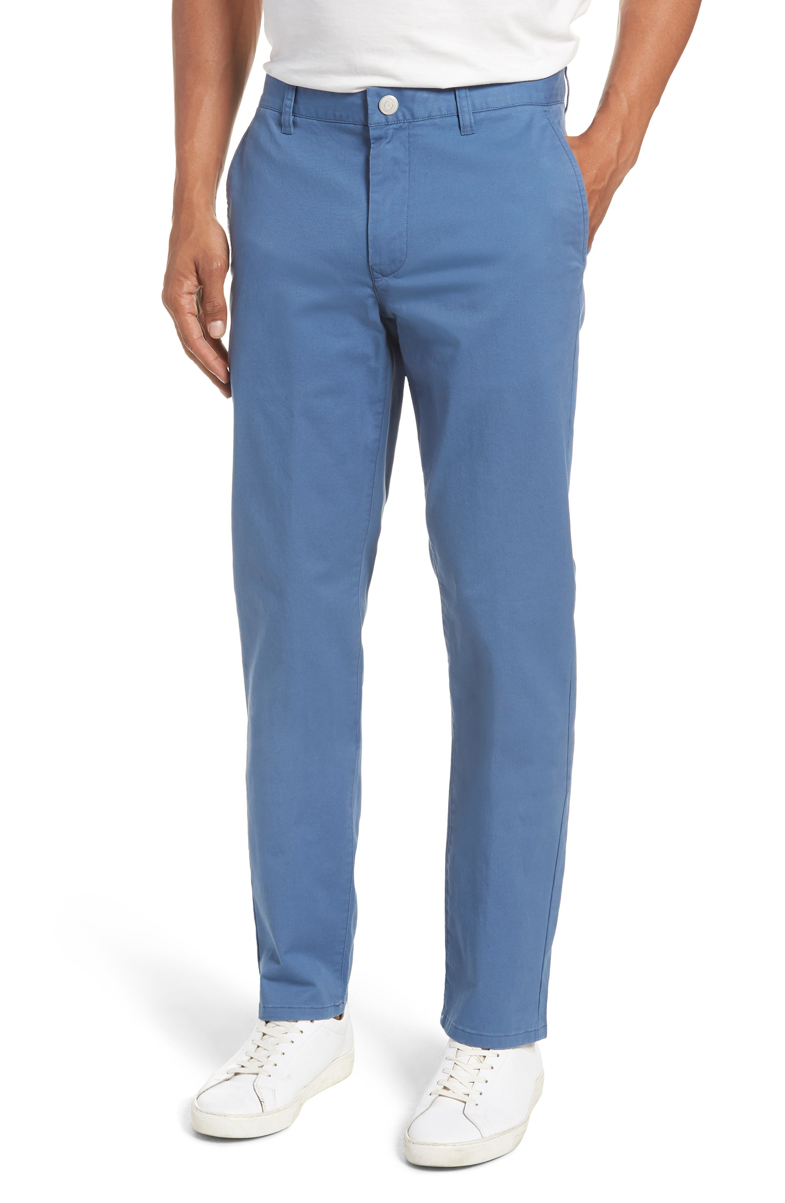 Tailored Fit Washed Stretch Cotton Chinos,                             Main thumbnail 16, color,