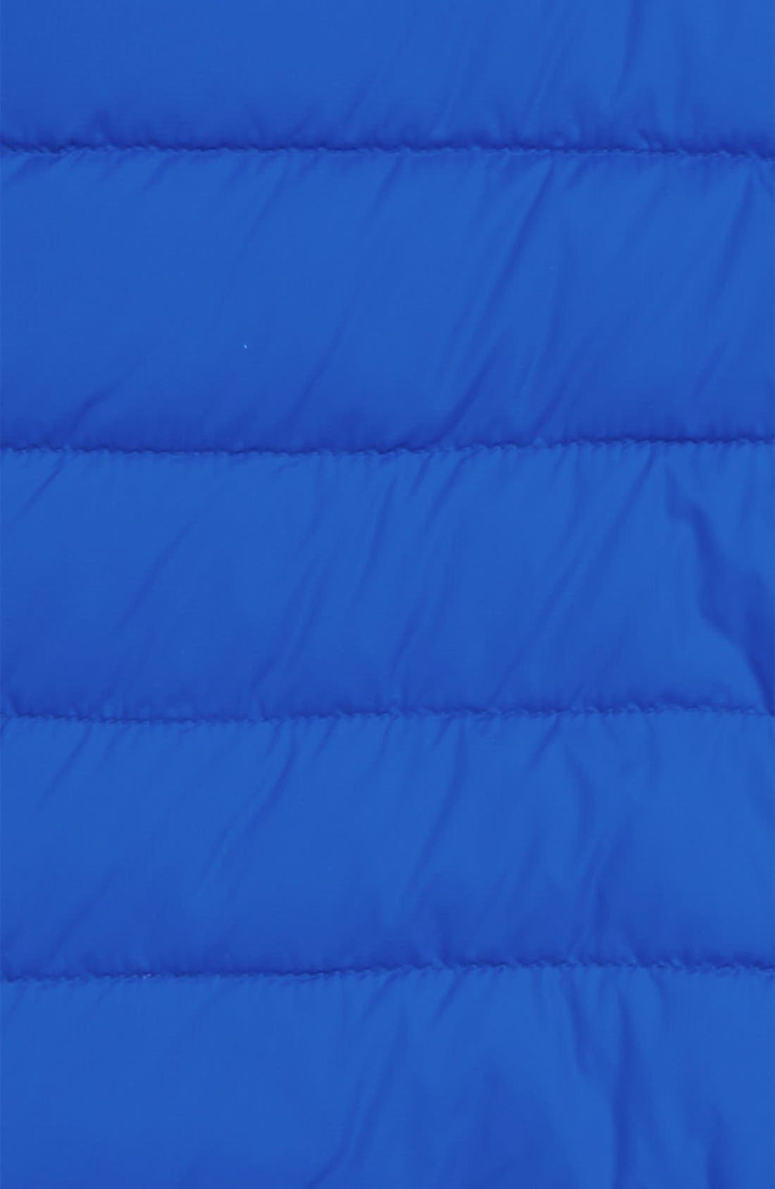 'Pup' Water Resistant Hooded Down Bunting,                             Alternate thumbnail 3, color,                             ROYAL BLUE