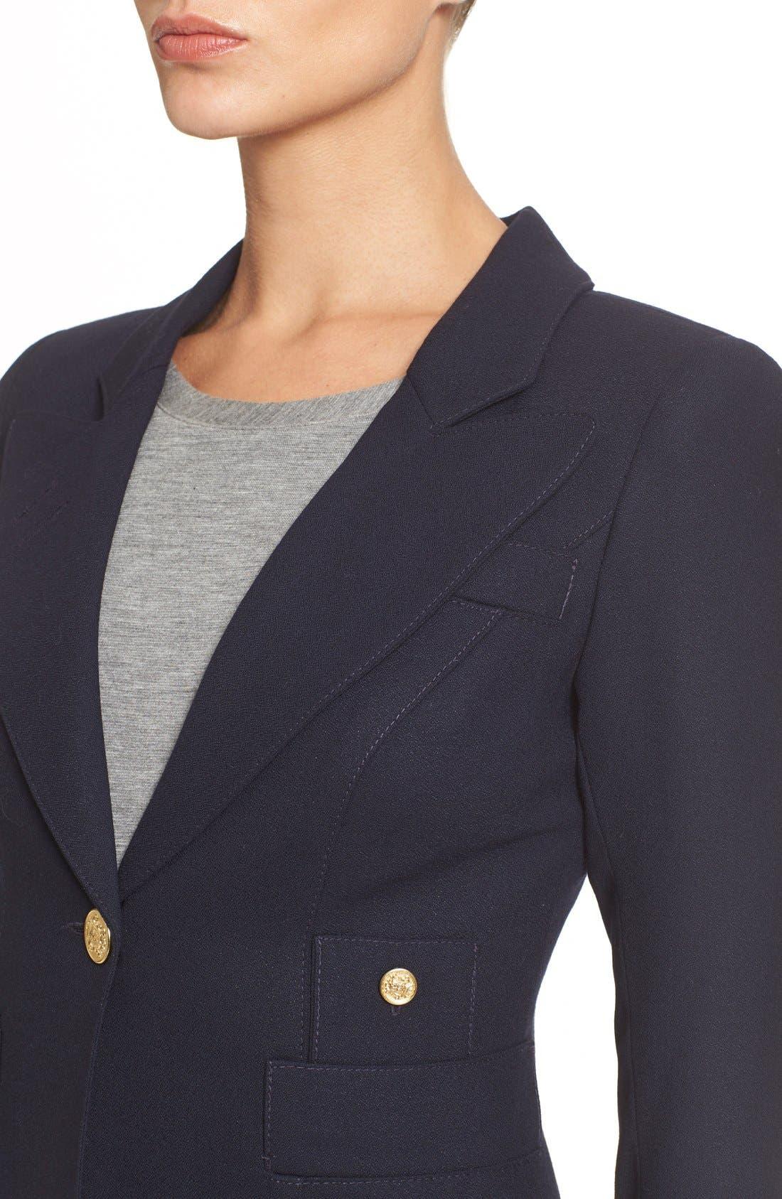 'Duchess' Single Button Blazer,                             Alternate thumbnail 11, color,