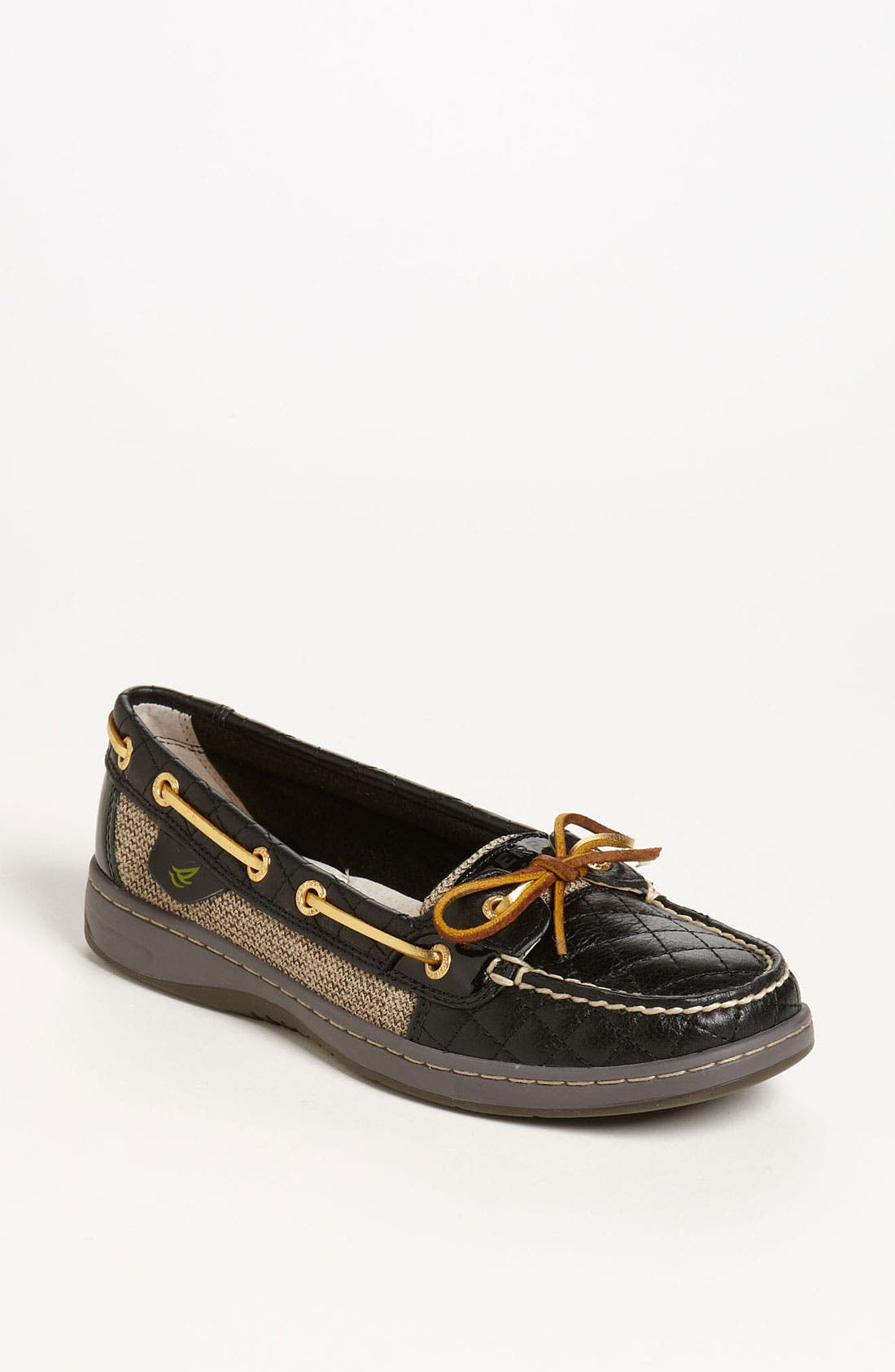 Top-Sider<sup>®</sup> 'Angelfish - Quilted' Boat Shoe,                         Main,                         color,