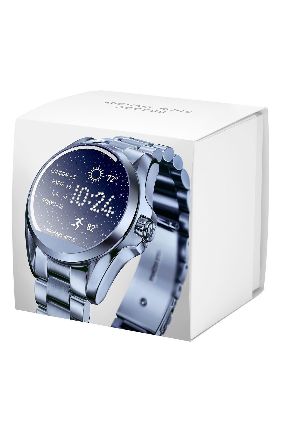 MICHAEL Michael Kors Bradshaw Access Bracelet Smart Watch, 45mm,                             Alternate thumbnail 39, color,