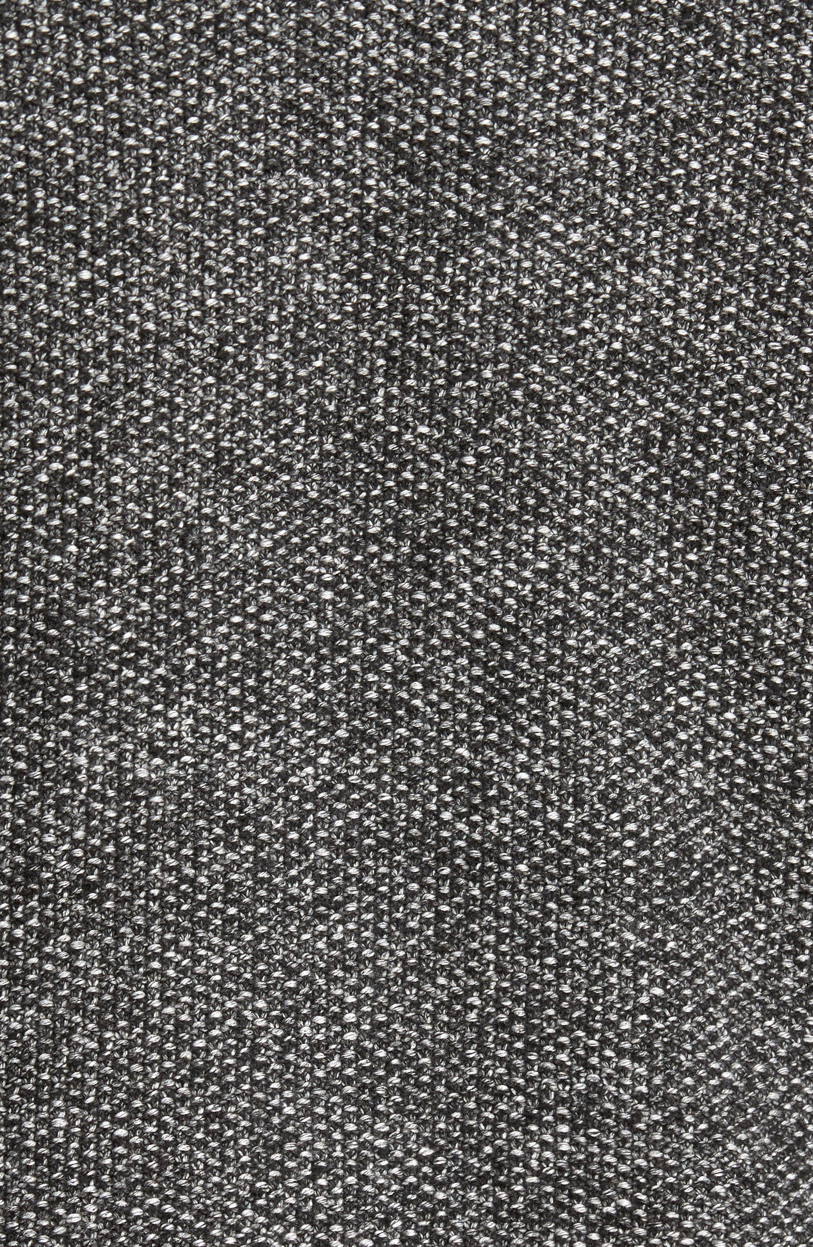 Seed Stitch Baseball Cardigan,                             Alternate thumbnail 5, color,                             001