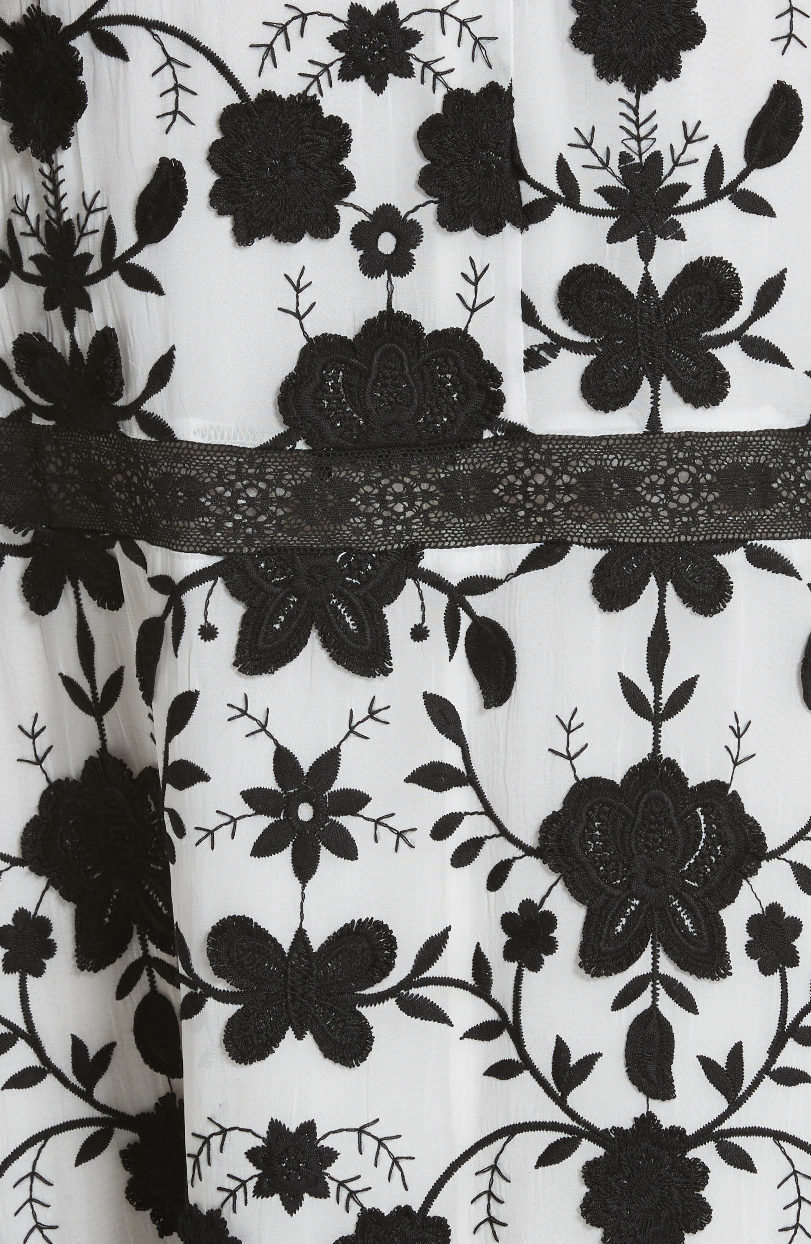 Fusca Floral Print Maxi Dress,                             Alternate thumbnail 5, color,                             018